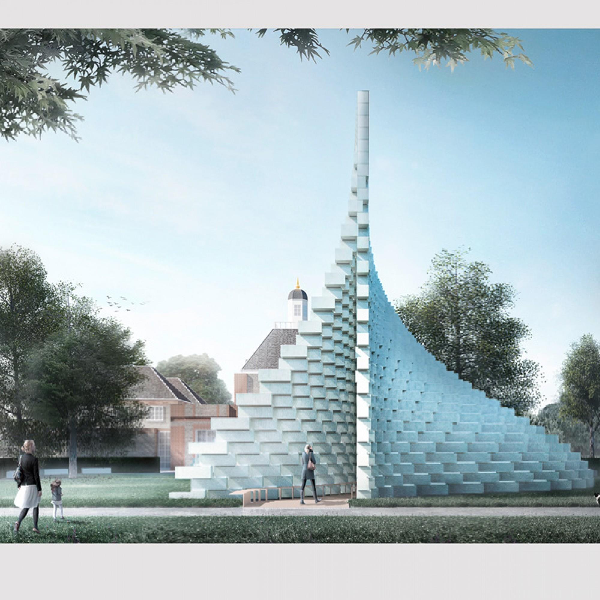 Der Pavillon von Bjark Ingels ist sowohl bei Tag... (Bjarke Ingels Group BIG) 1/10