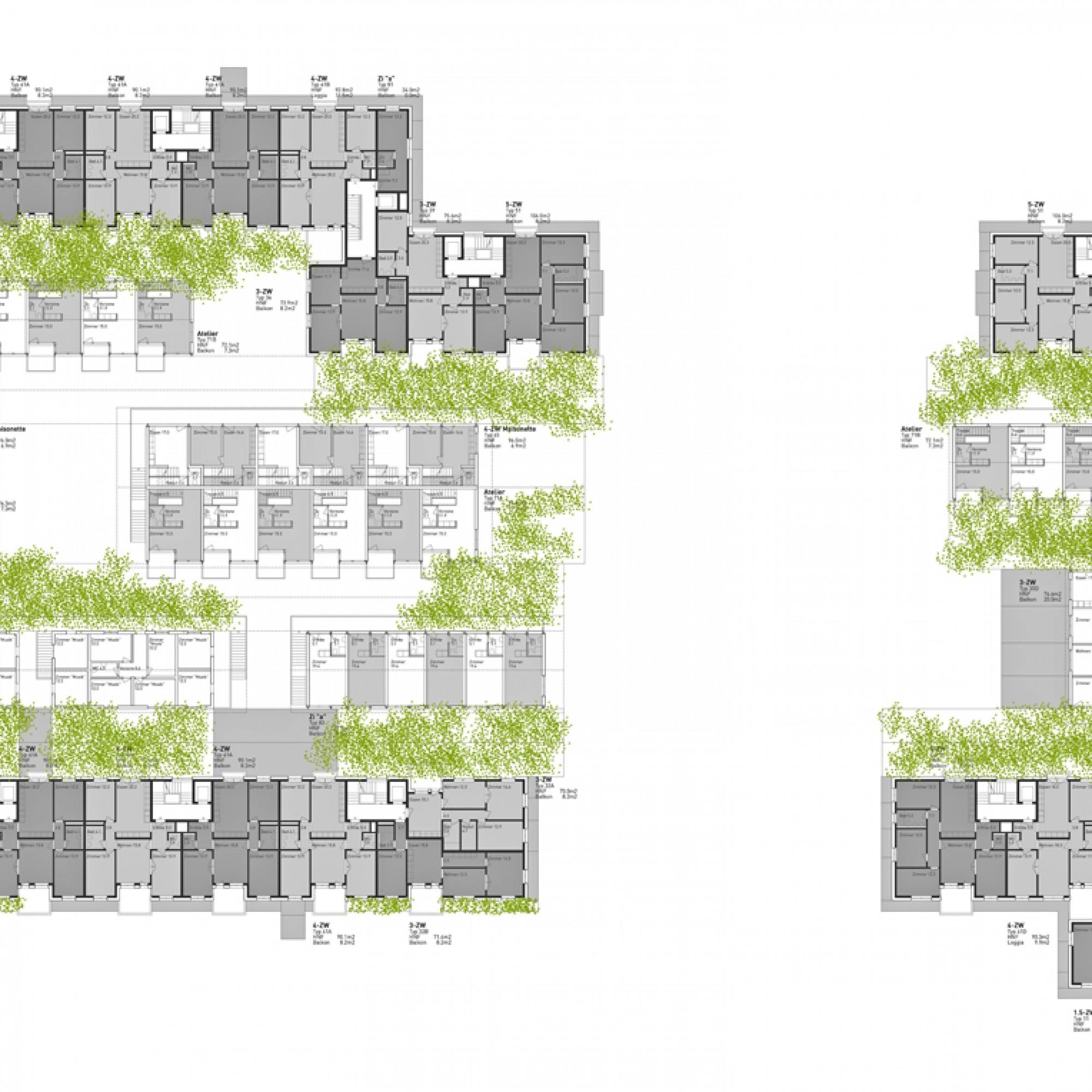 Grundriss (Clou Architekten AG)