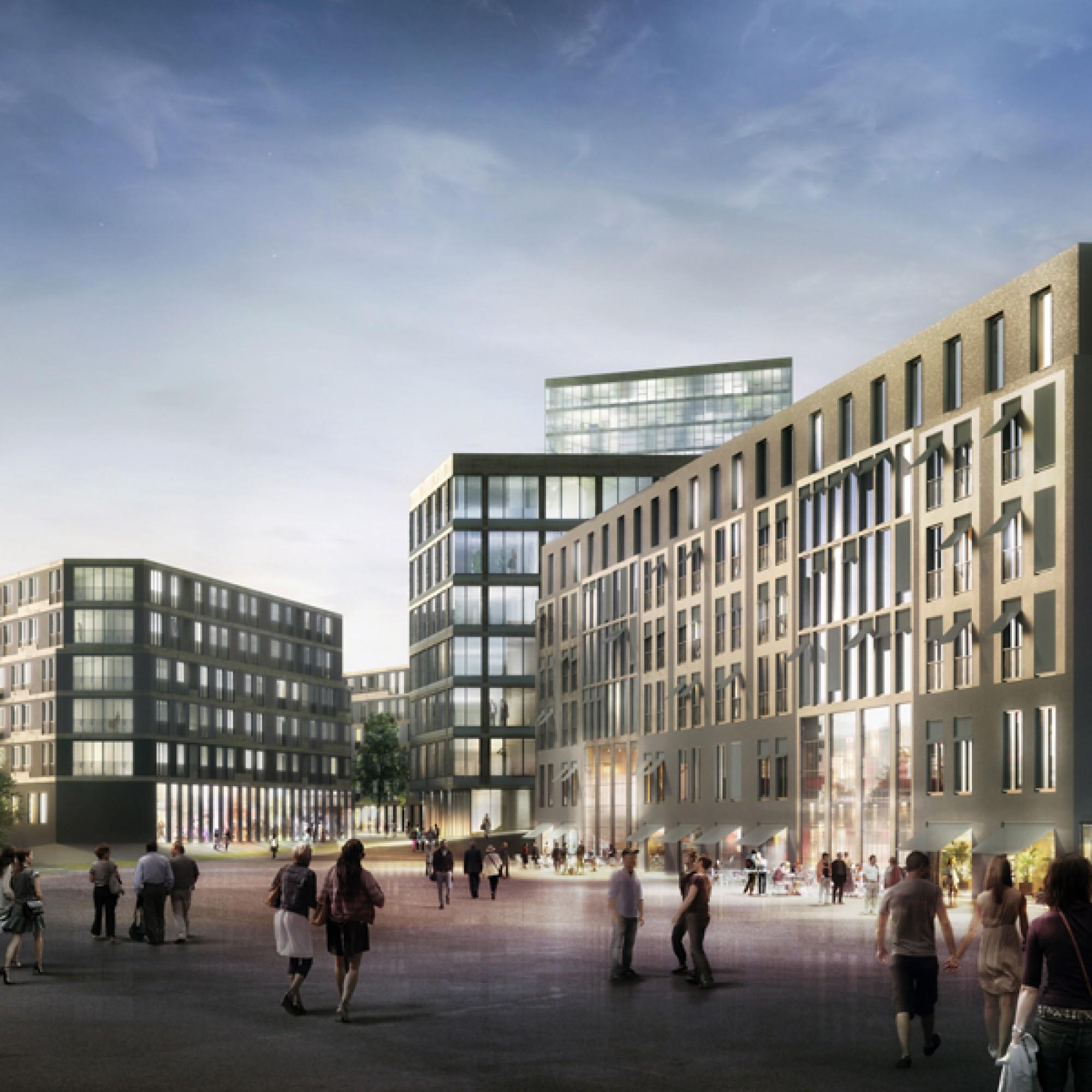 Das neue Stadtquartier von Bülach (zvg)
