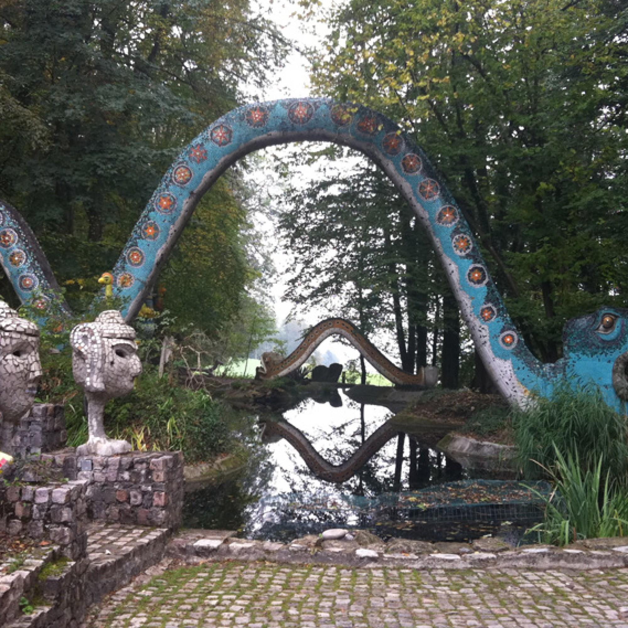 Ein verwunschenes Reich im Wald bei Dietikon: der Bruno-Weber-Park  (Silva Maier)