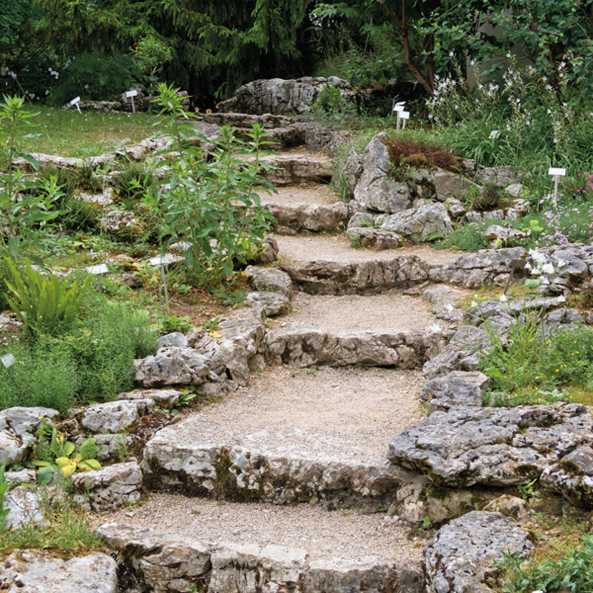 Botanischer Garten in Porrentruy
