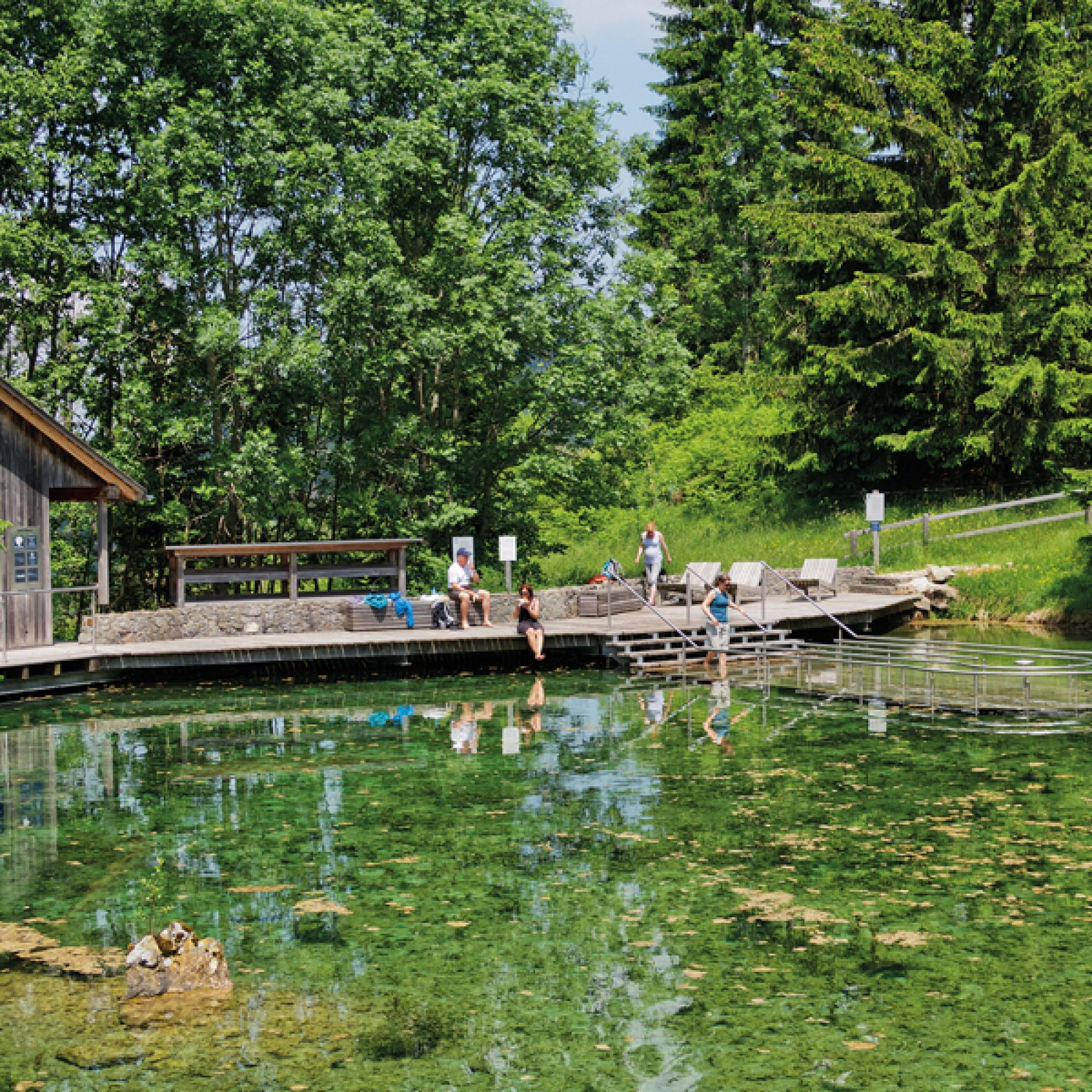 Kneippanlage Schwandalpweiher in Flühli