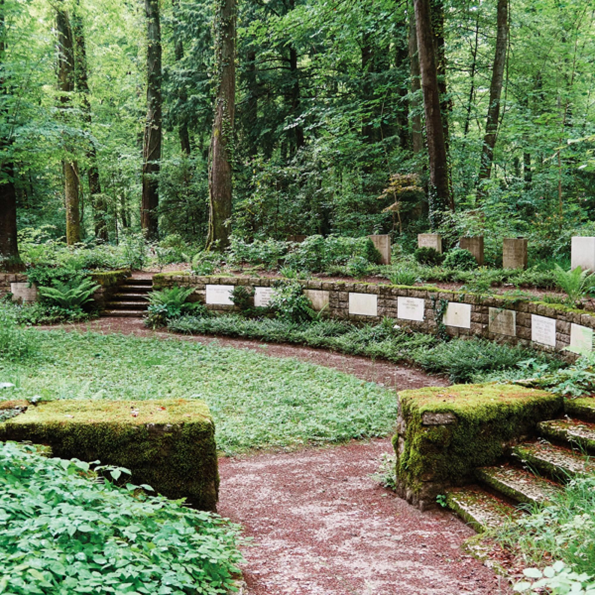 Waldfriedhof in Schaffhausen