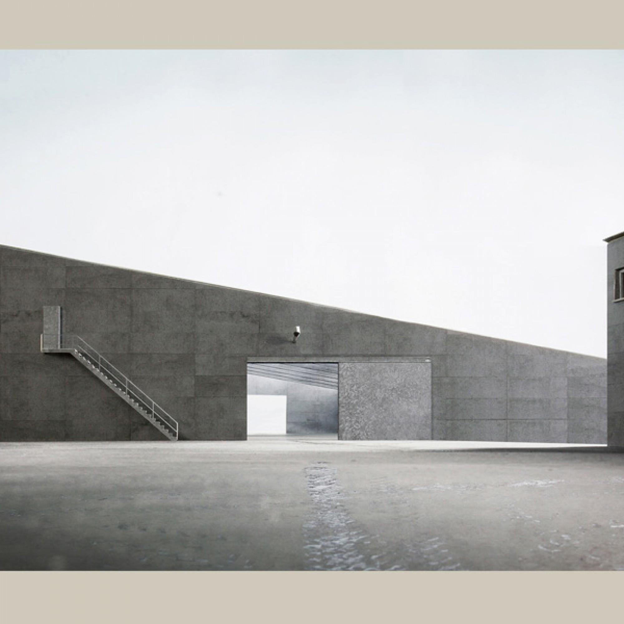 So könnte der neue Werkhof in Bülach aussehen (Visualisierung zvg)