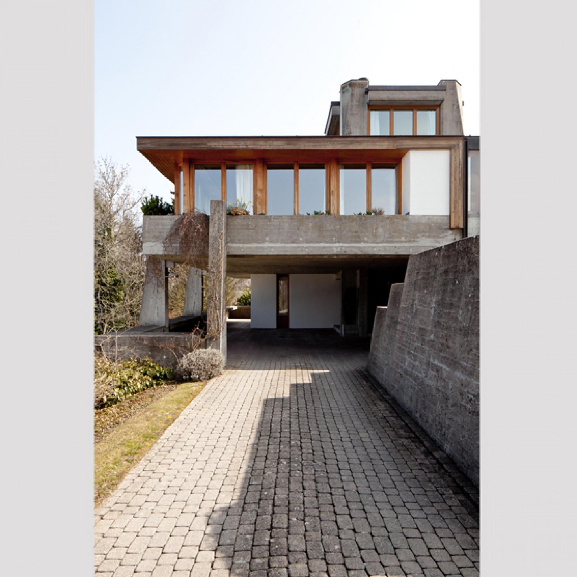 Haus Schuler, Feusisberg, 1978–79 (Christian Kahl, 2016 / SAM)