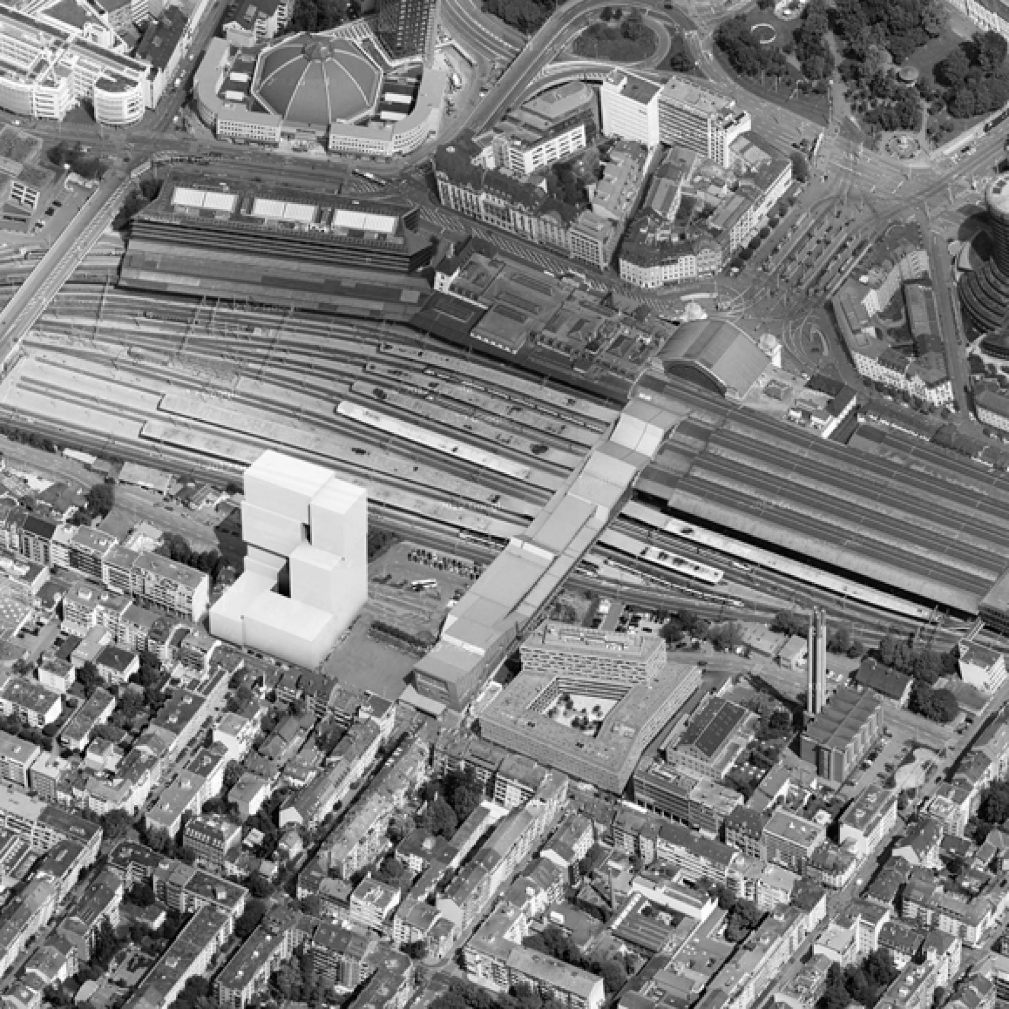 Das Areal auf der Südseite des Bahnhofs. (SBB)