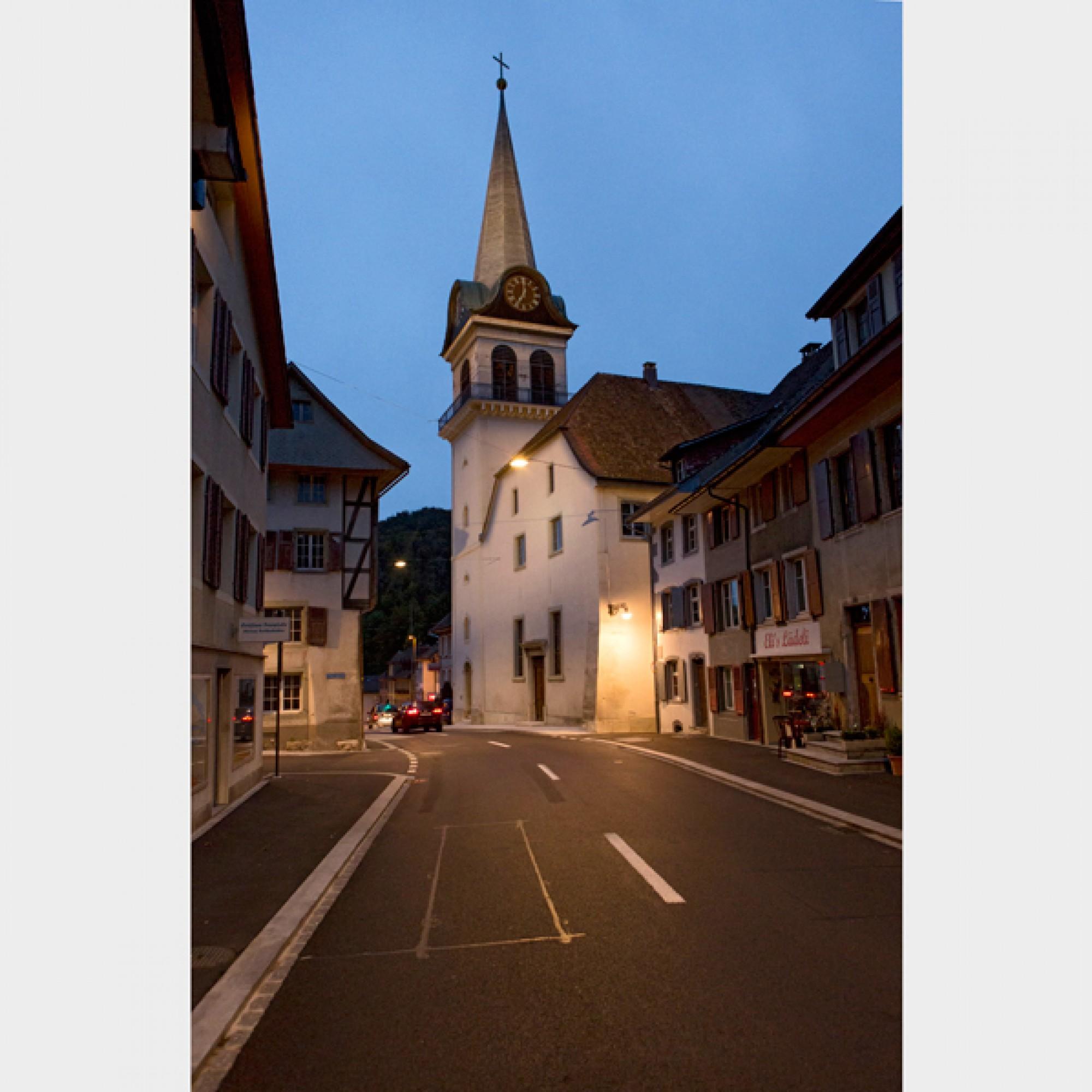 EInzelne Bauten werden extra beleuchtet.  (Ralph Lehner Fotografie, Allschwil / PD)