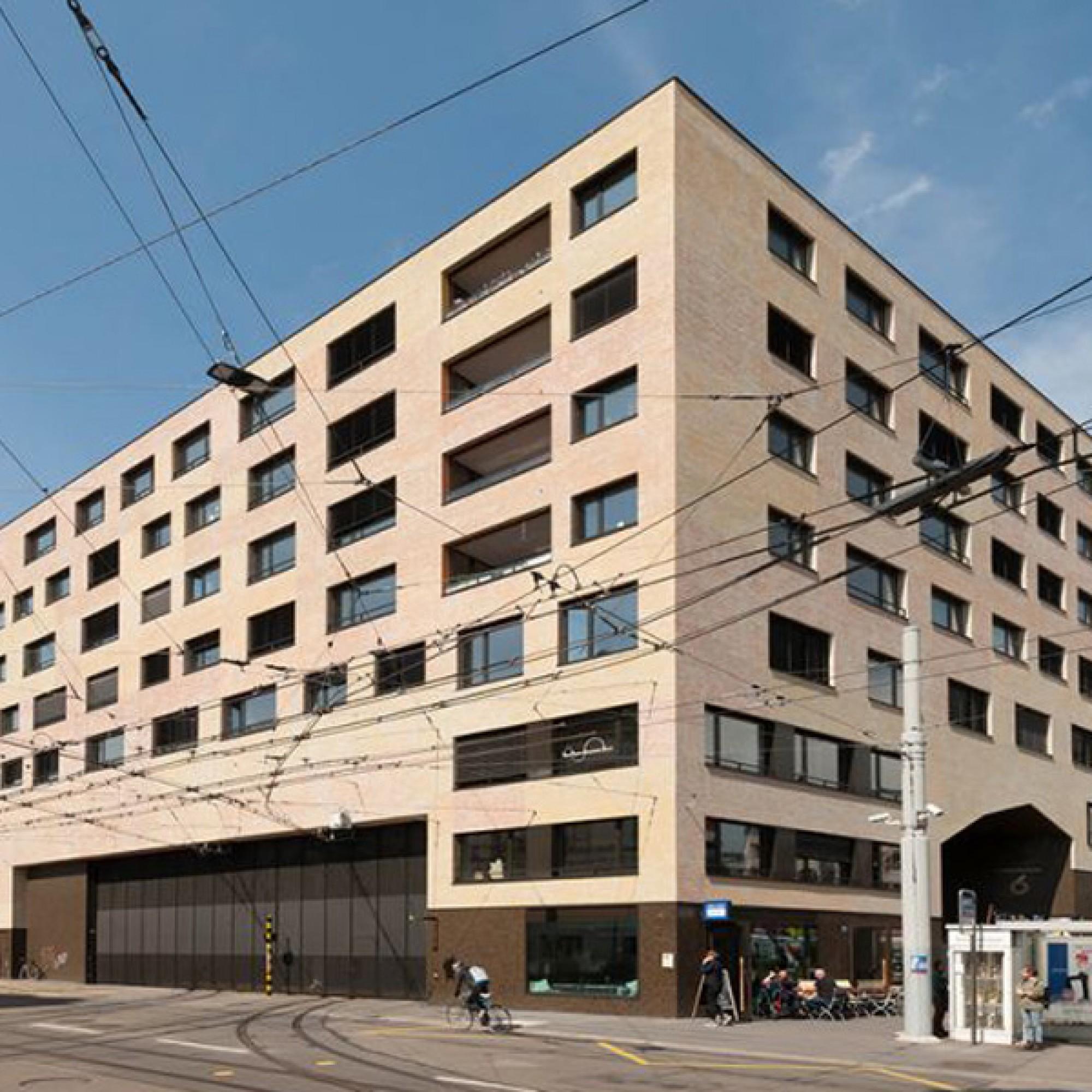 Wohn- und Gewerbesiedlung Kalkbreite, Zürich (Bilder zvg)