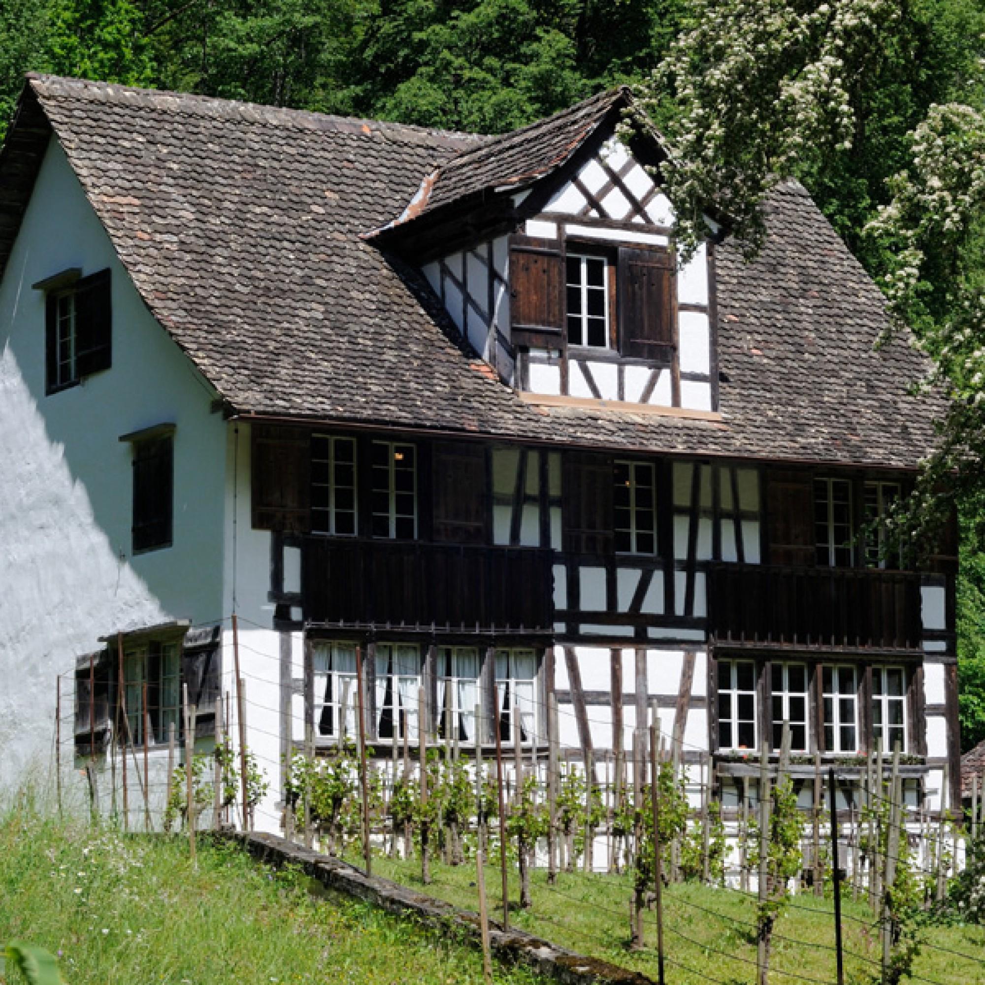 Richterswil ZH: Wo früher dieses Riegelhaus stand… (Bilder zvg)