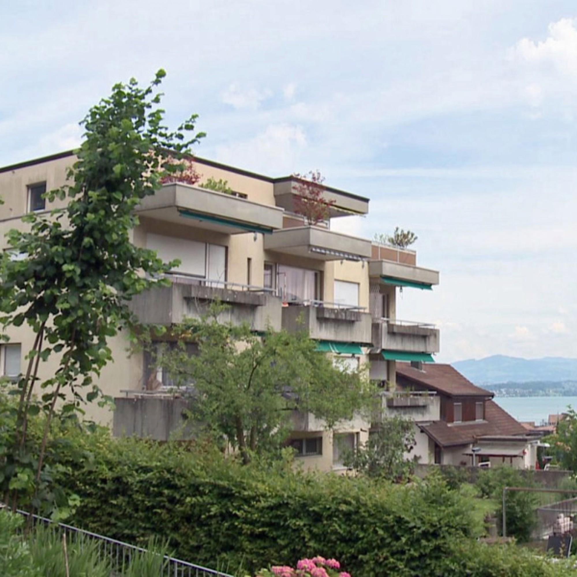 …ist heute ein Wohnblock zu sehen, der in den 70er-Jahren gebaut wurde.