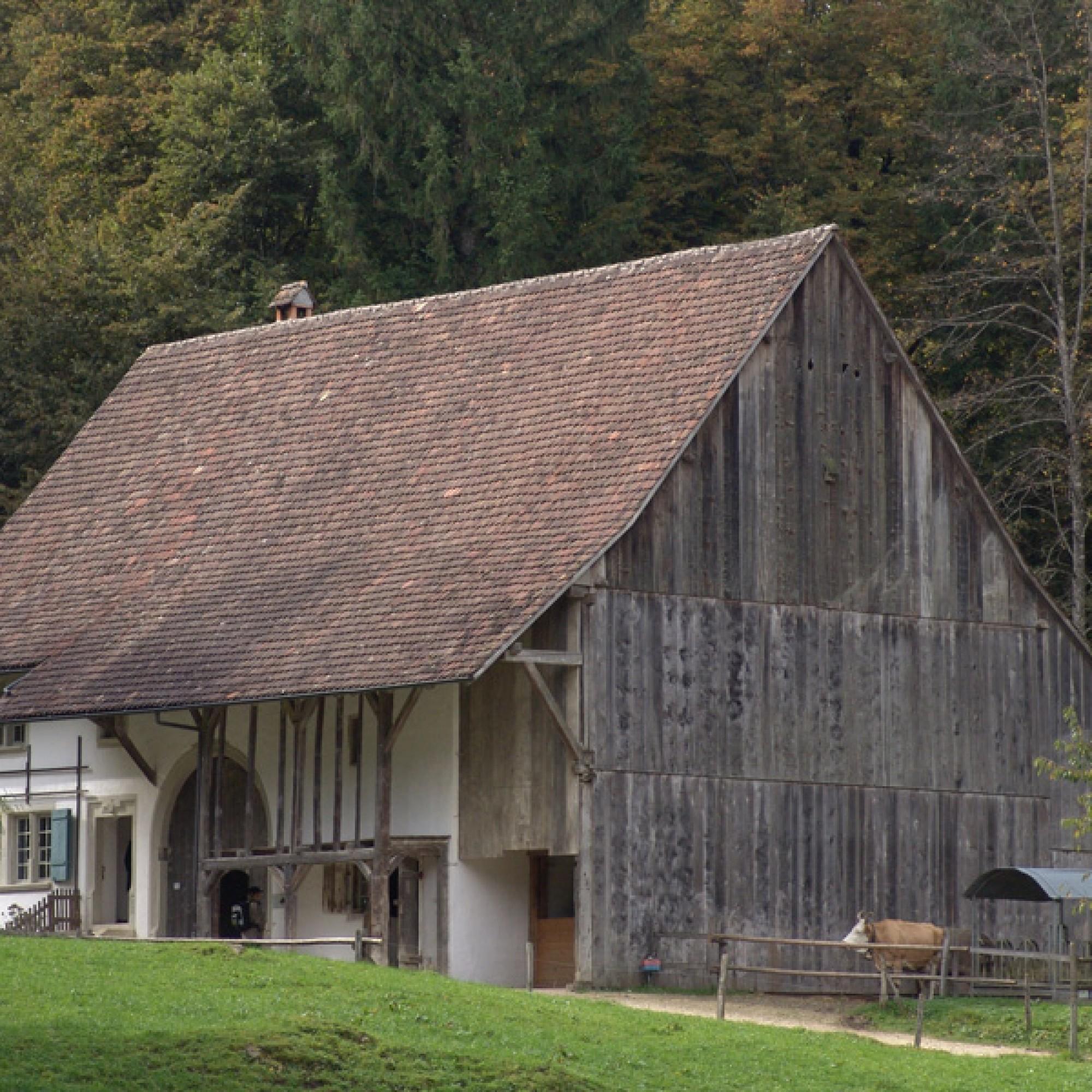 Therwil BL: Dieses Bauernhaus…
