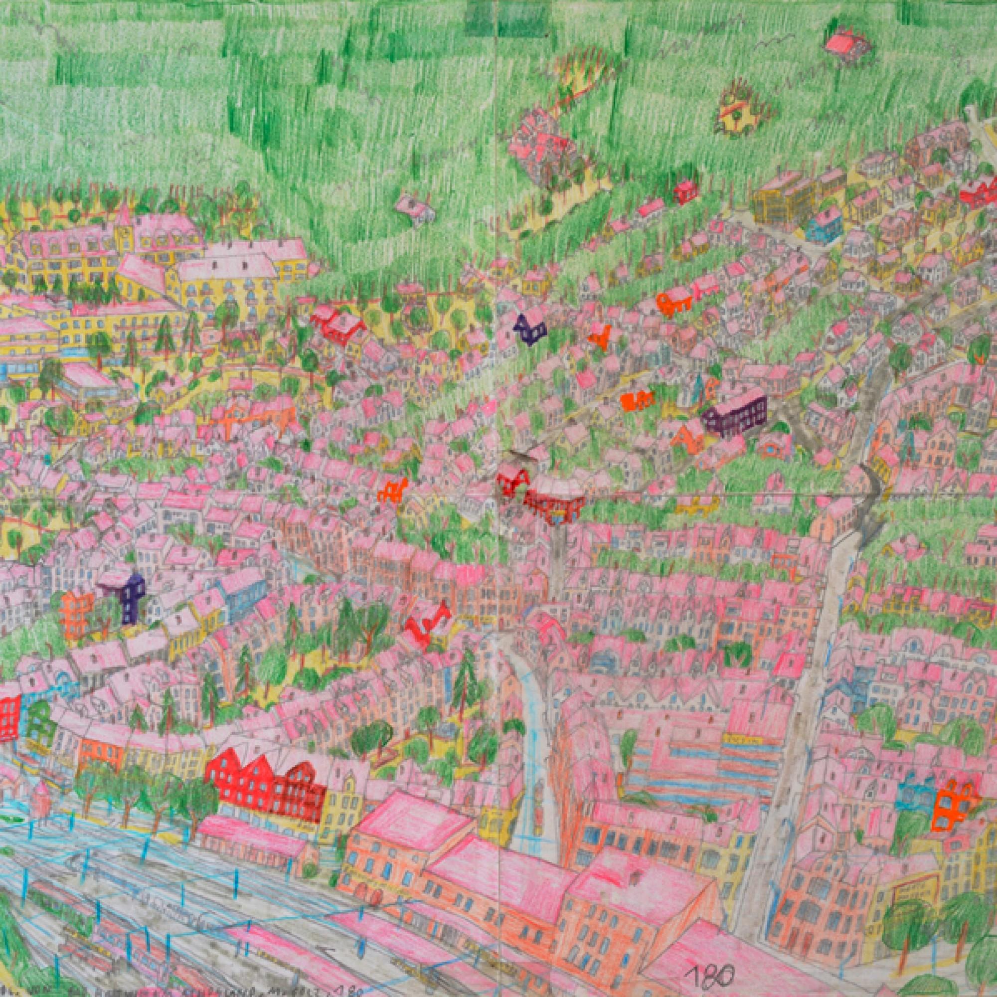 Bad Martin südlich  von Bad Hartwich im Athosland, Bild Nr. 180, 2009. (Michael Golz) 1/4