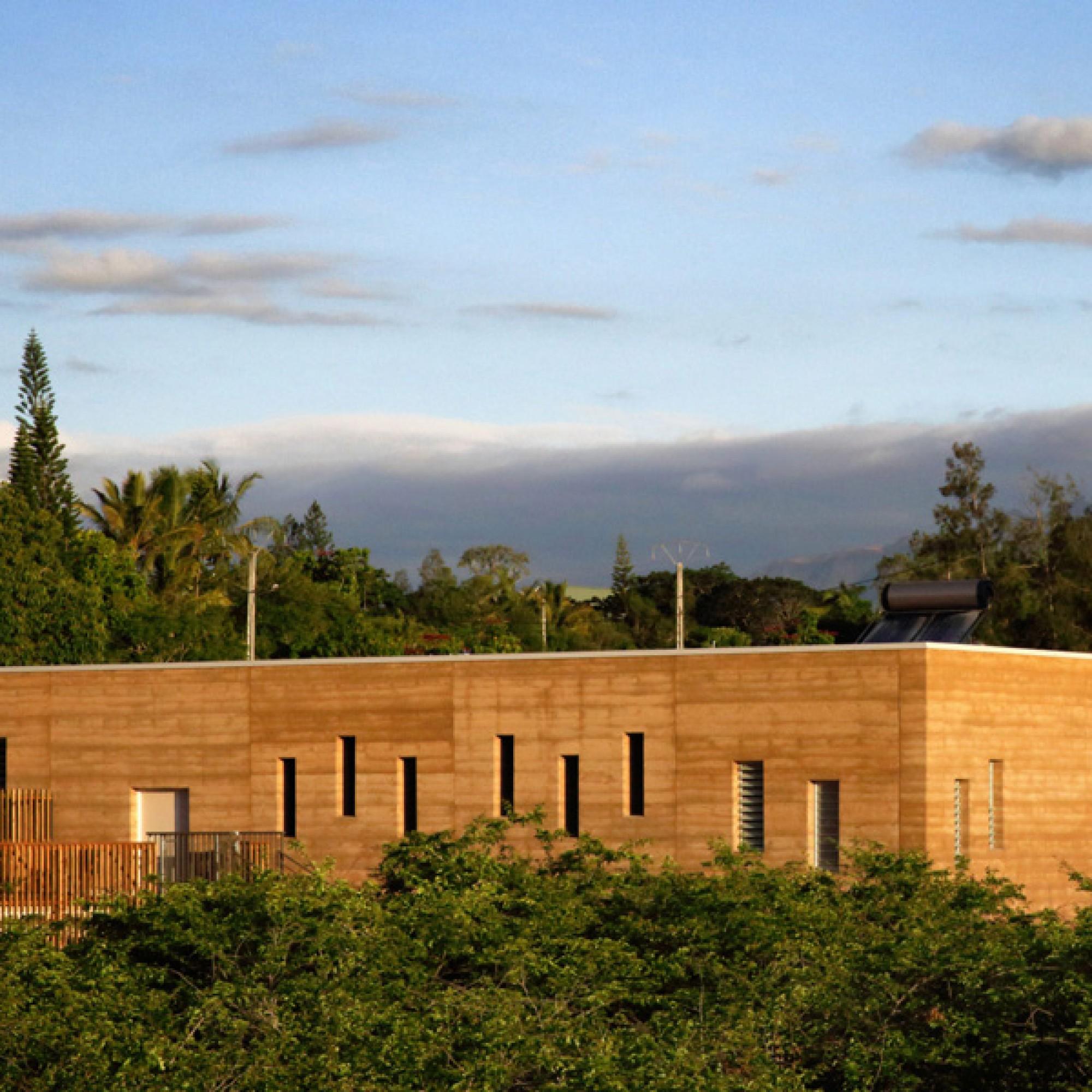 Gymnasium in Païamboué in Neukaledonien.