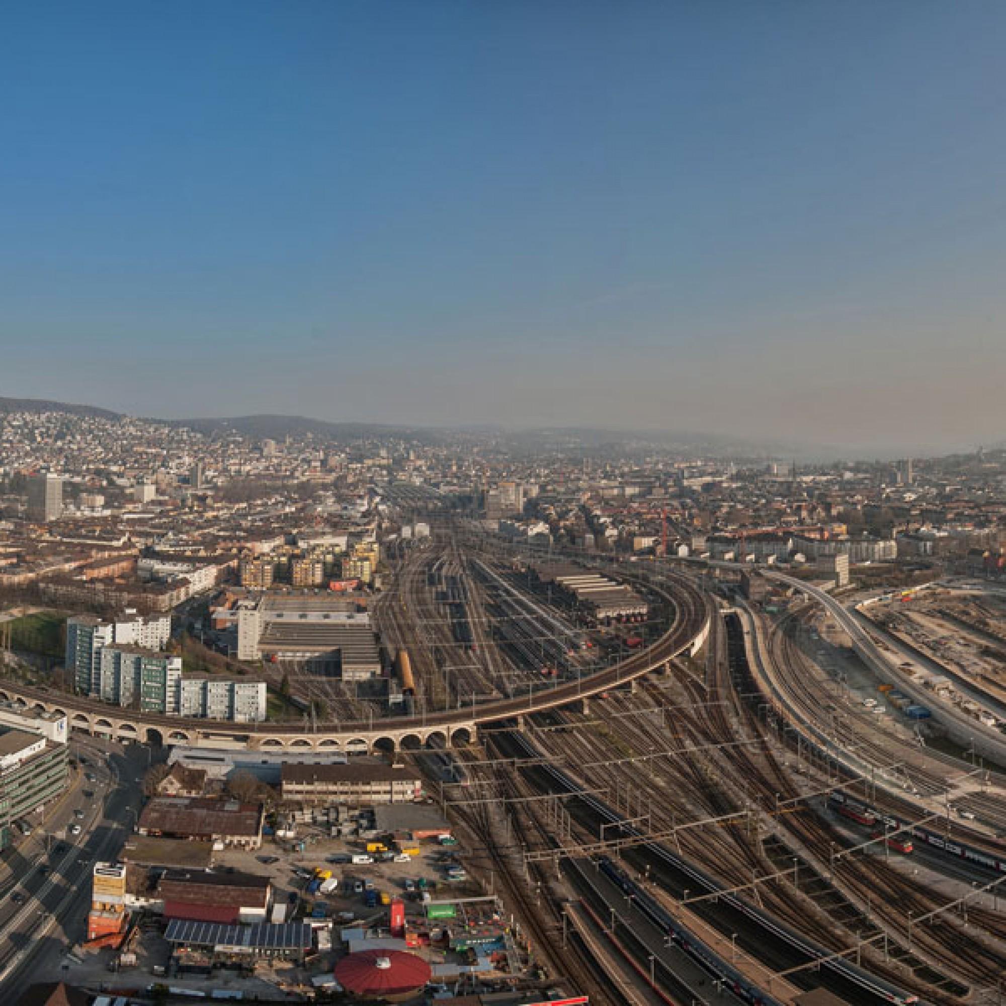 Zürich kann mit weiteren Investitionen in seine Bahnanlagen rechnen (SBB)