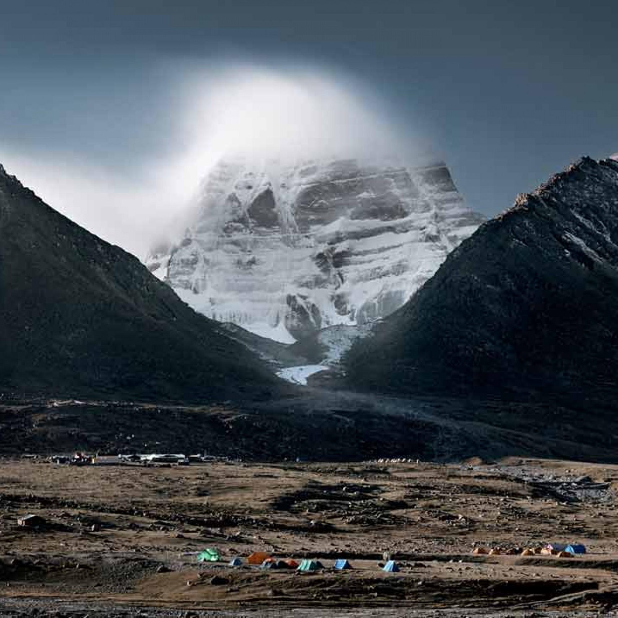 Eine erhabene, ferne Welt: Peter Zuder fotografierte den Kailash. (Samuel Zuder, Hatje Cantz Verlag)