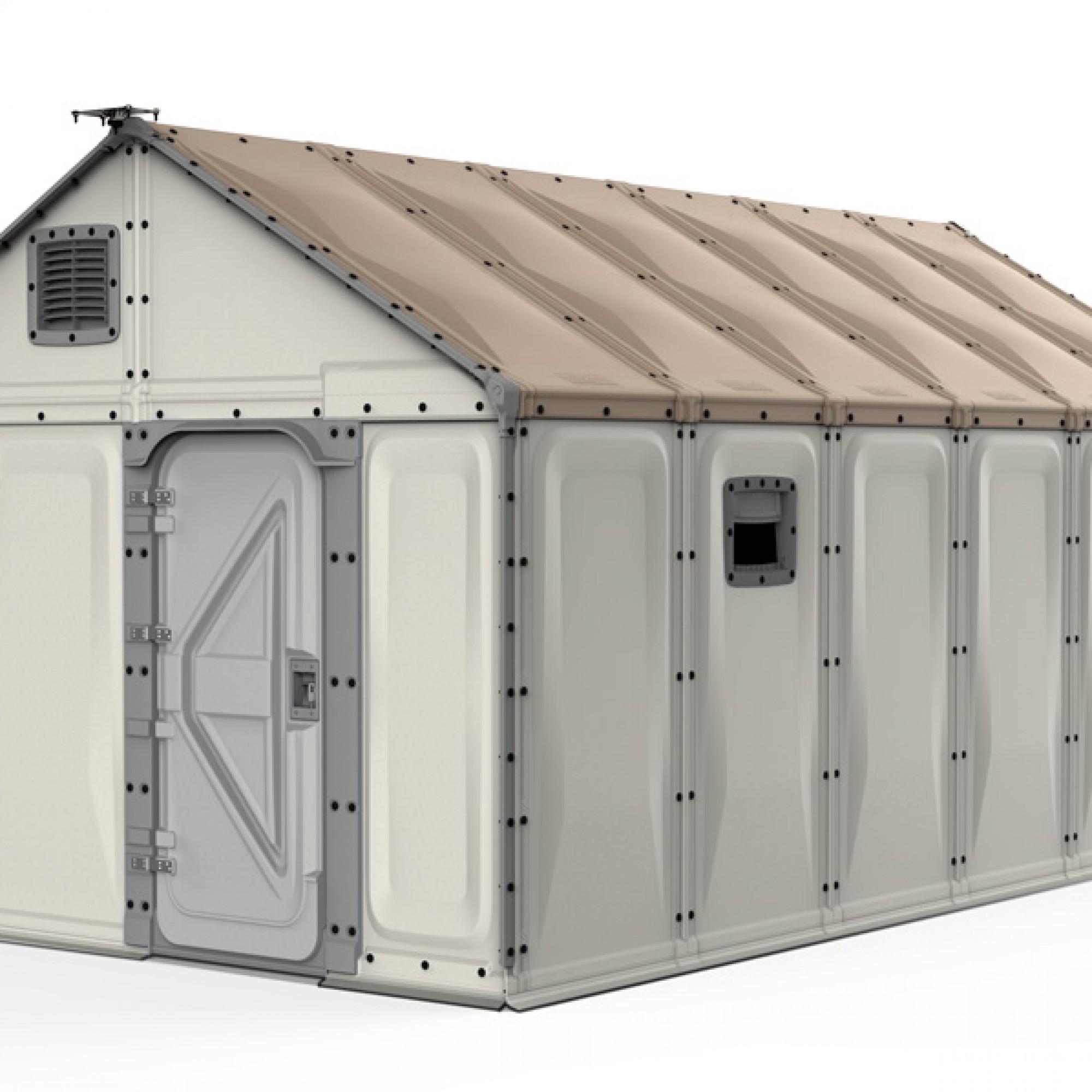Für Strom sorgt ein Solarpanel, das auf dem Dach installiert wird. (bettershelter.org)