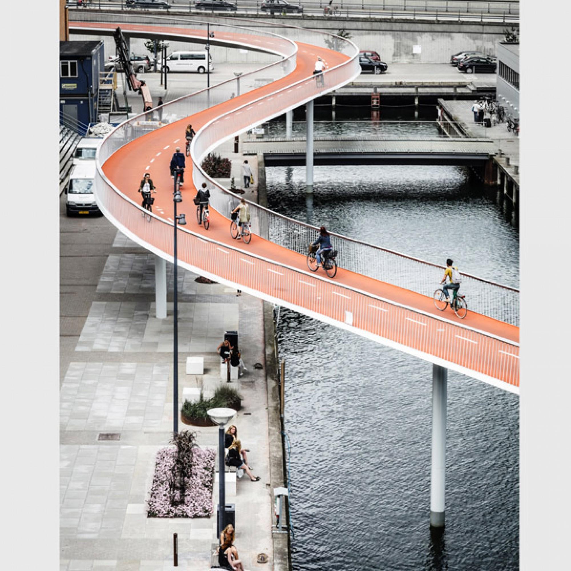 Cykelslangen in Kopenhagen, Design Dissing + Weitling Architecture.