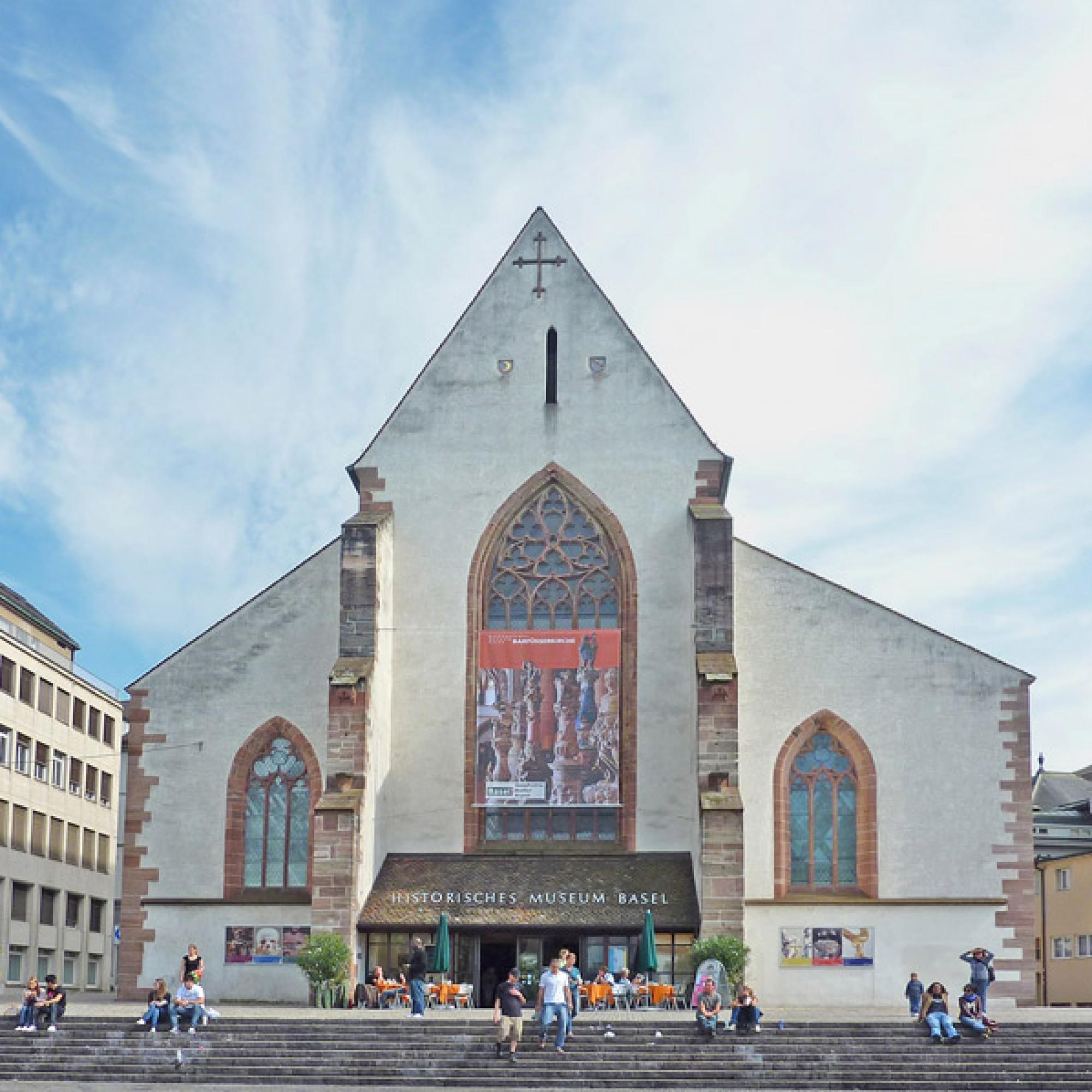 In der Barfüsserkirche ist heute das Historische Museum der Stadt Basel untergebracht. (James Steakley, CC BY-SA 3.0, Wikimedia)