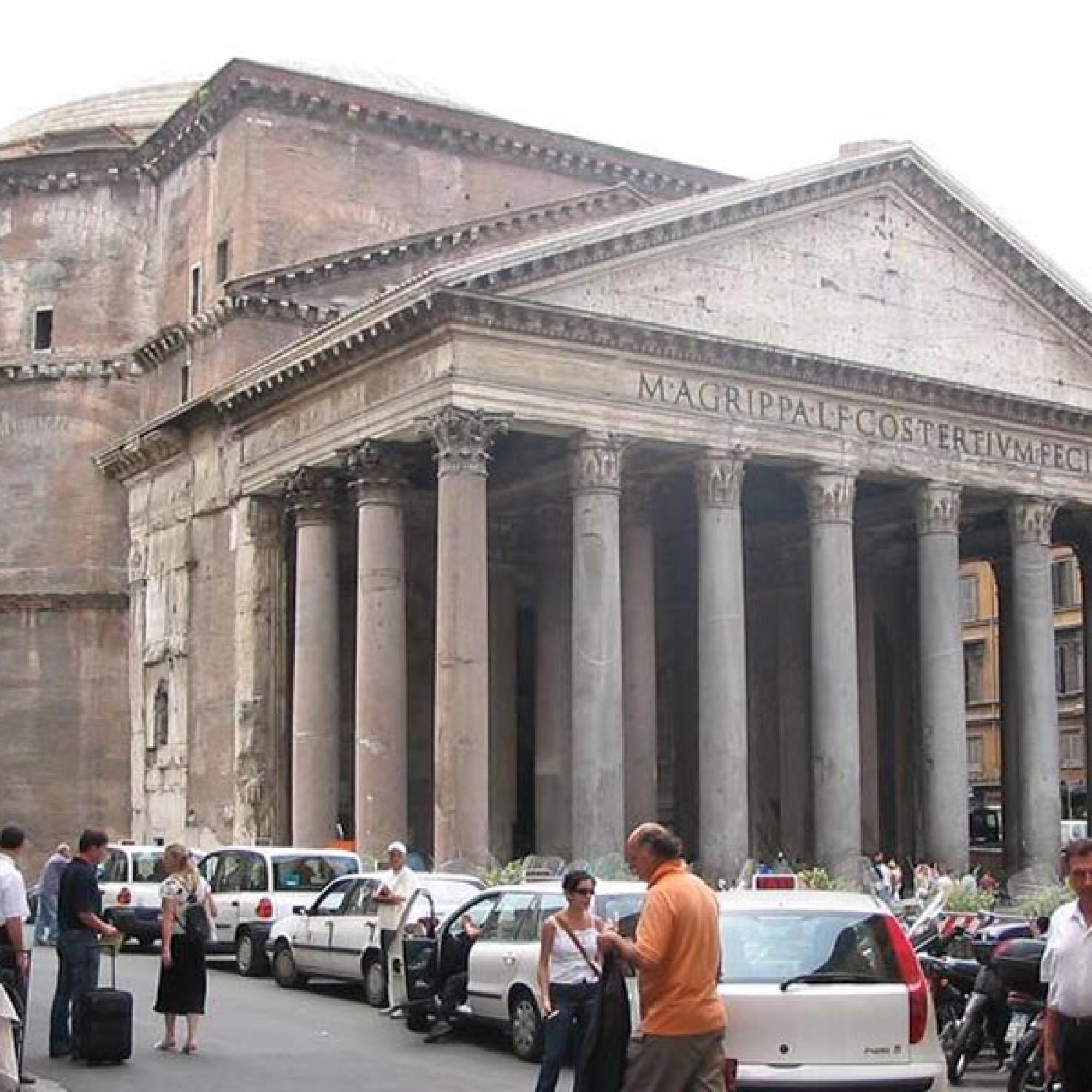 Das Pantheon in Rom hat mit seiner Kuppel aus«Opus caementitium», einem Gemisch aus Steinen, Sand und gebranntem Kalkstein, bereits zwei Jahrtausende überdauert. (Bild: Ian Monroe-CC BY-SA 3.0)