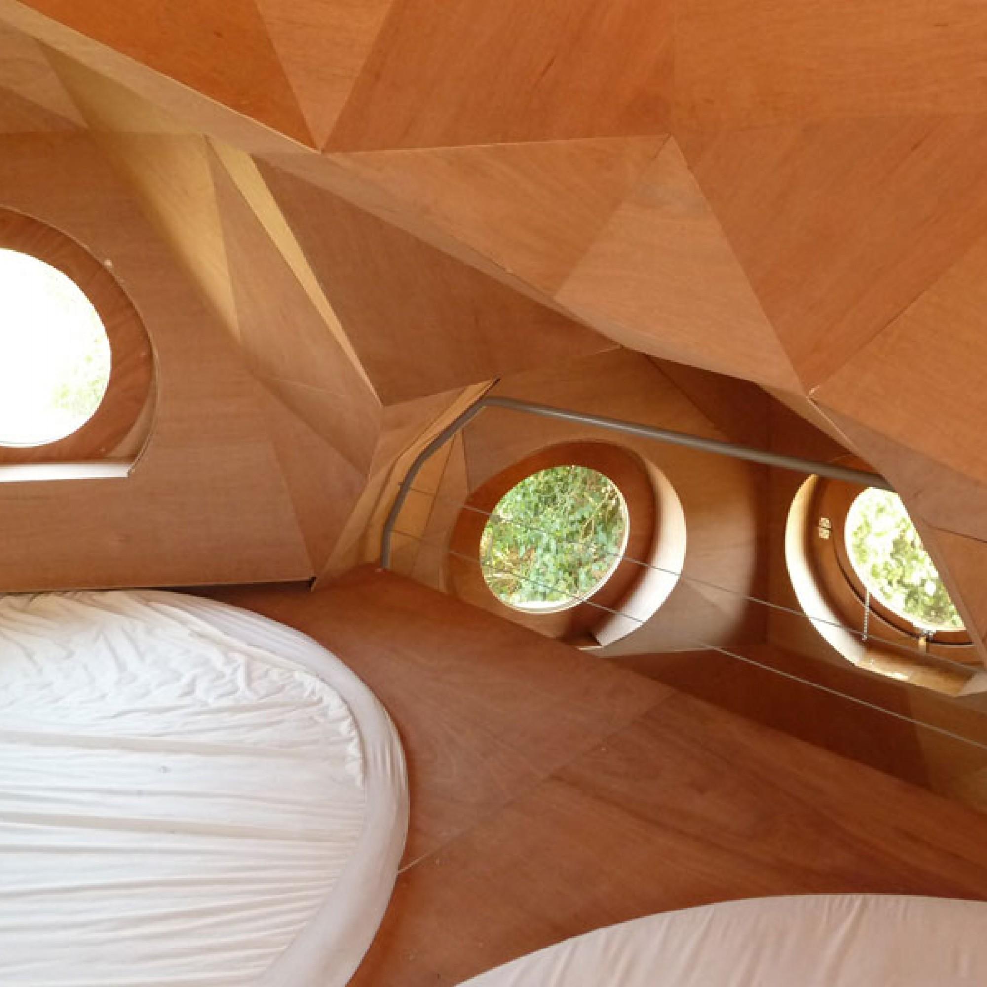Das Innere der Konstruktion wirkt gemütlich. (Bild: Bordeaux Métropole/ Zebra3 CC BY-NC-ND 2.0)