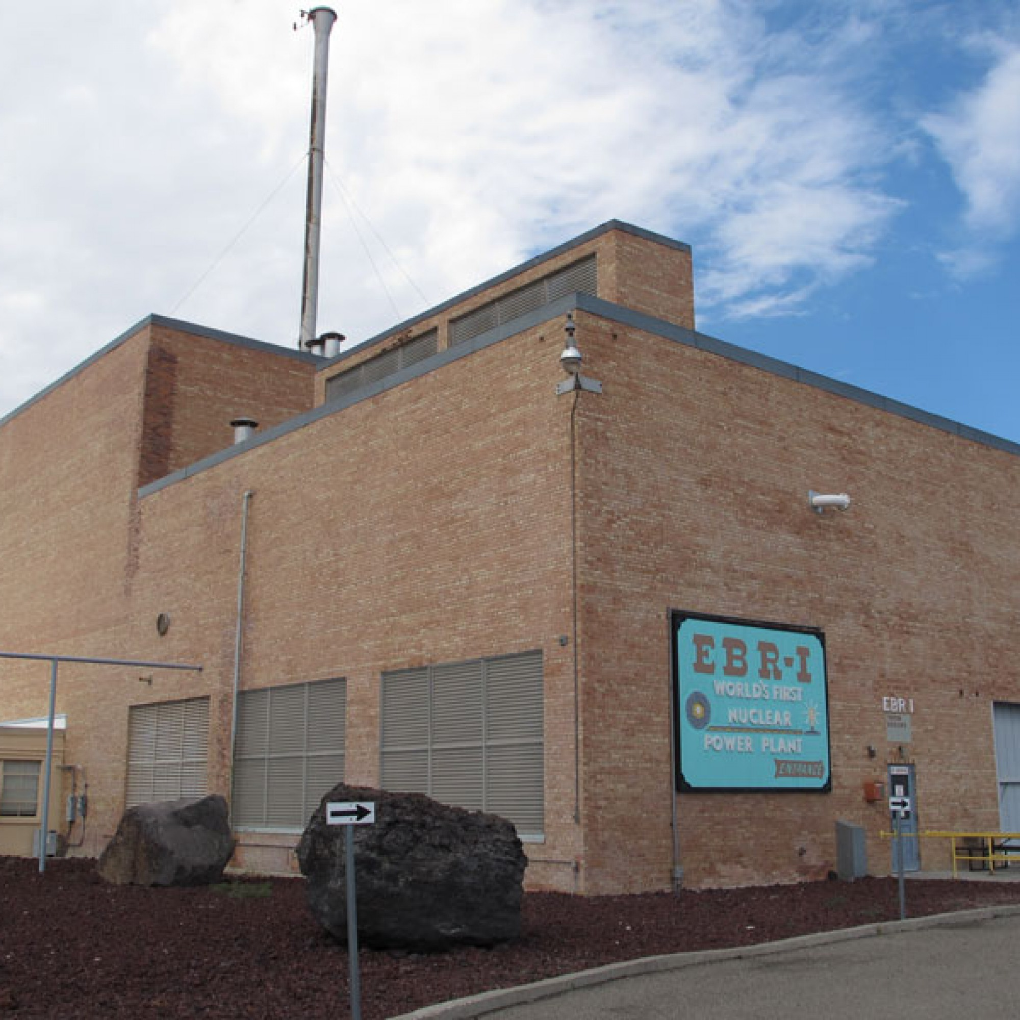 Das Besucherzentrum des Versuchreaktoren EBR-1. (Bild: Kelly Michals flickr CC BY-NC 2.0)