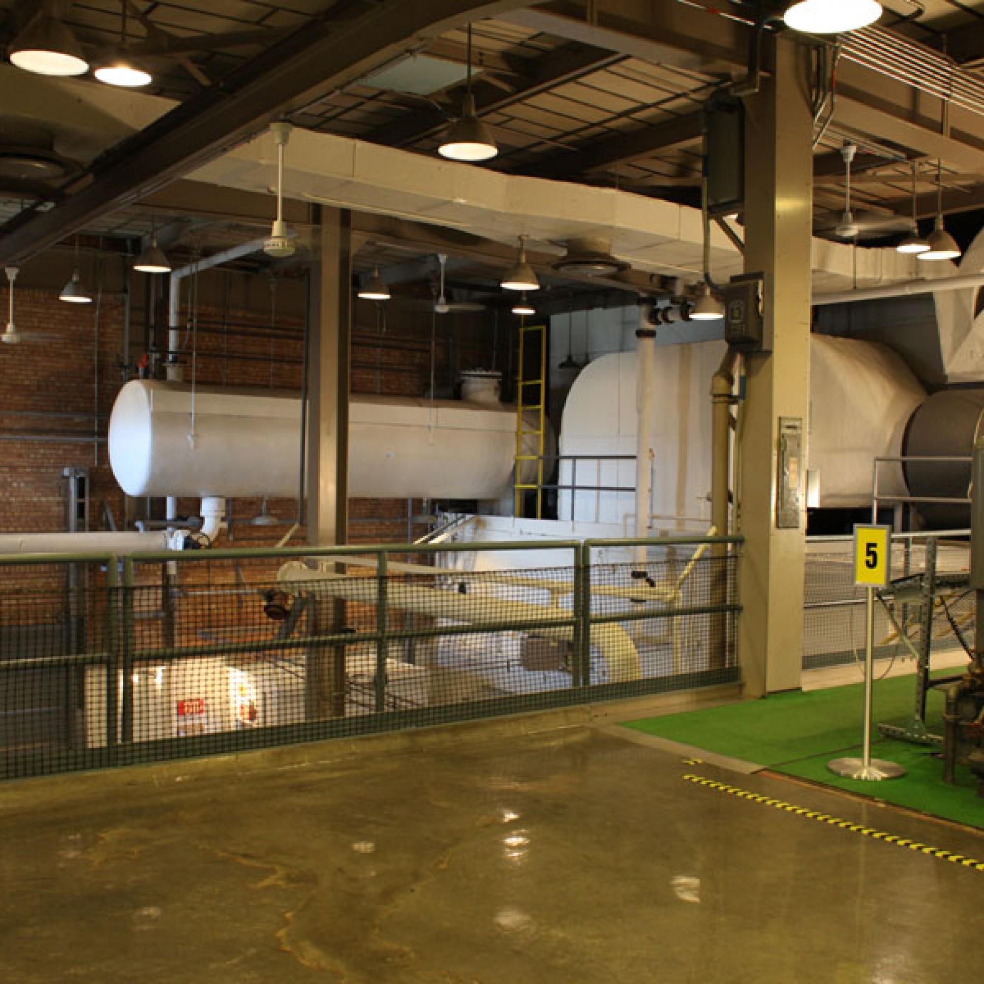 Das Innere des Versuchreaktors. (Bild: Kelly Michals flickr CC BY-NC 2.0)