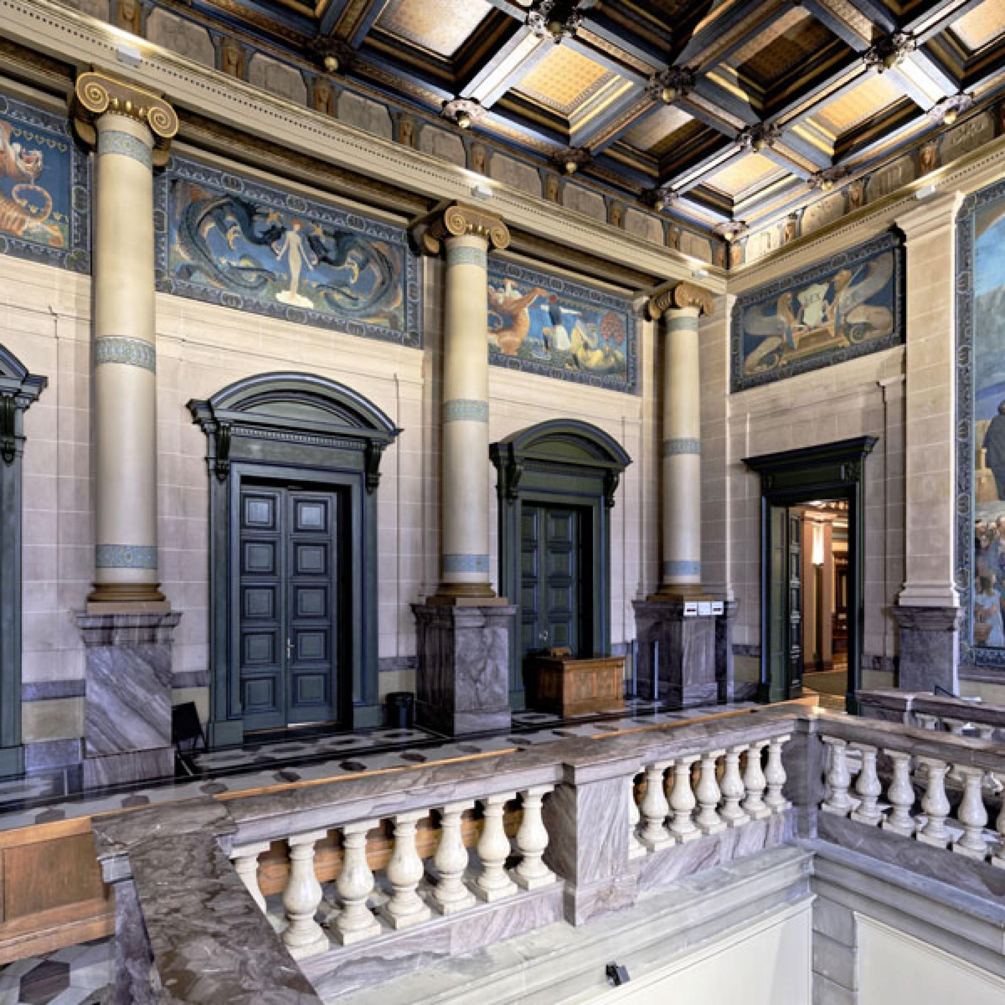 Le palais de justice de Montbenon, Lausanne. (Bild: © Ceux d'en face, Genève)