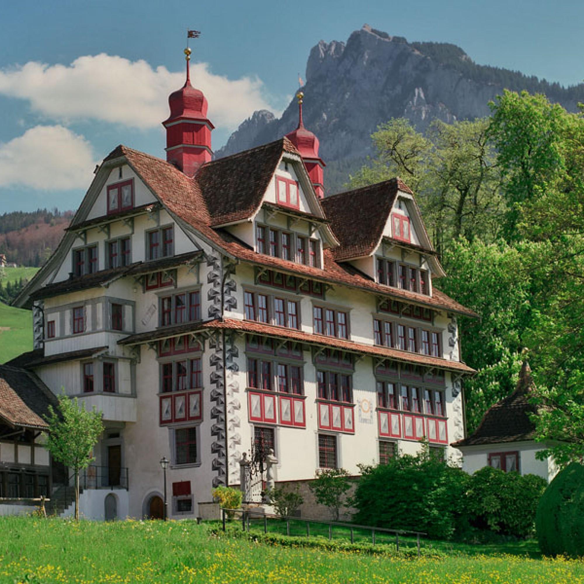Ital Reding-Haus, Schwyz. (Bild: © Stiftung Ital Reding-Haus)