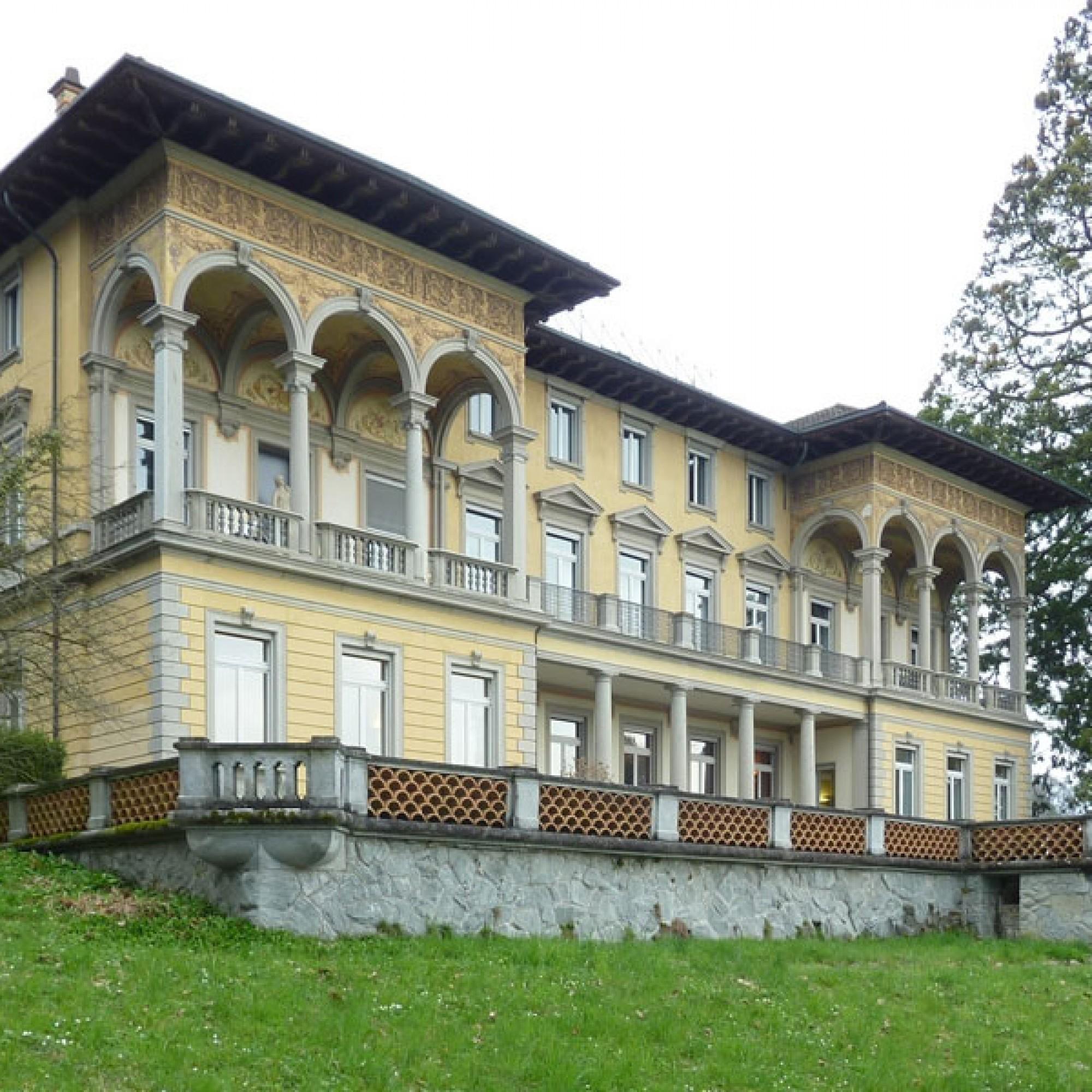 Villa Bellerive: Prachtvolle Fabrikantenvilla in Luzern. (Bild: © Kantonale Denkmalpflege Luzern)