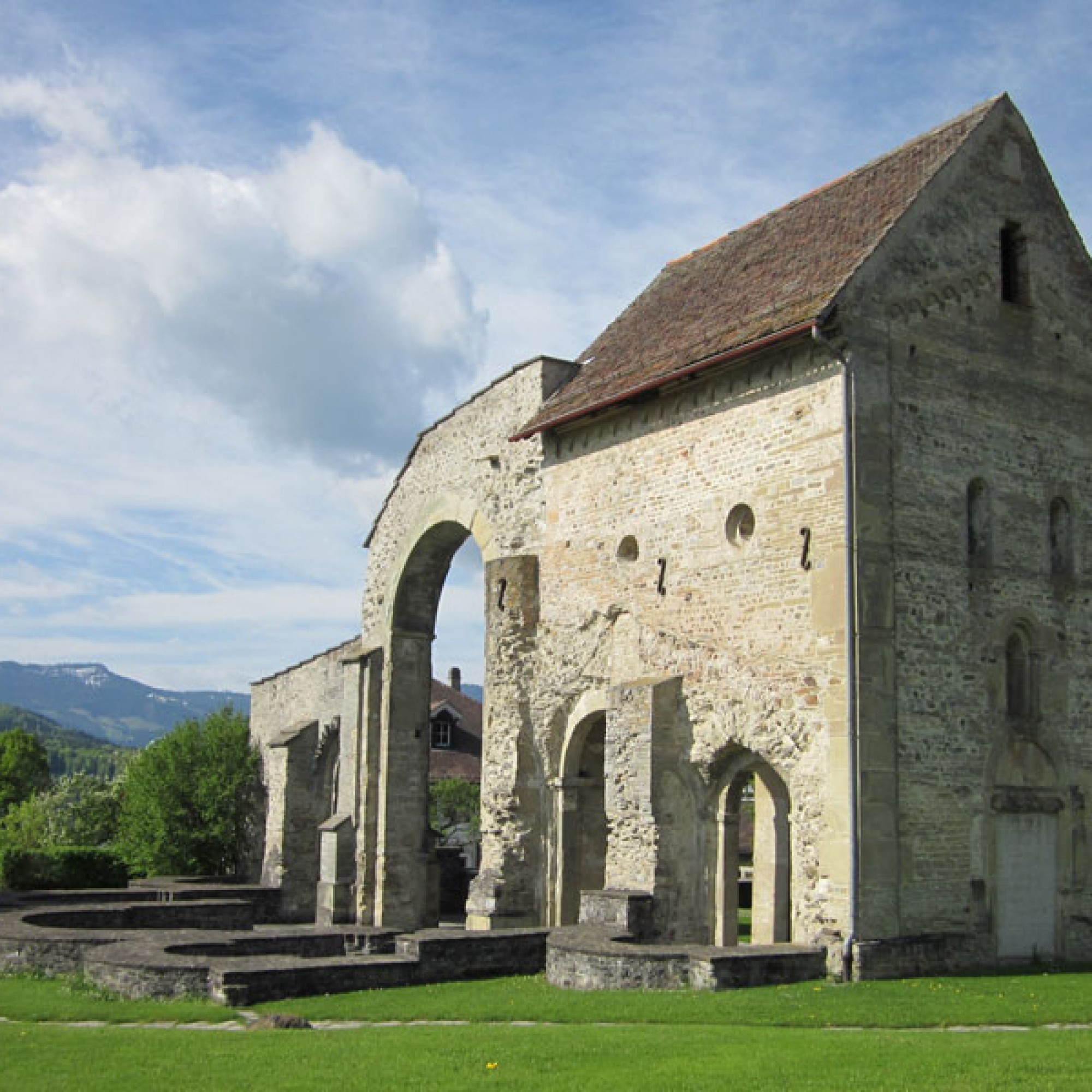 Ruine des Cluniazenserpriorats St. Peter und Paul. (Rüeggisberg BE) (Bild: © Patrick Schmed)