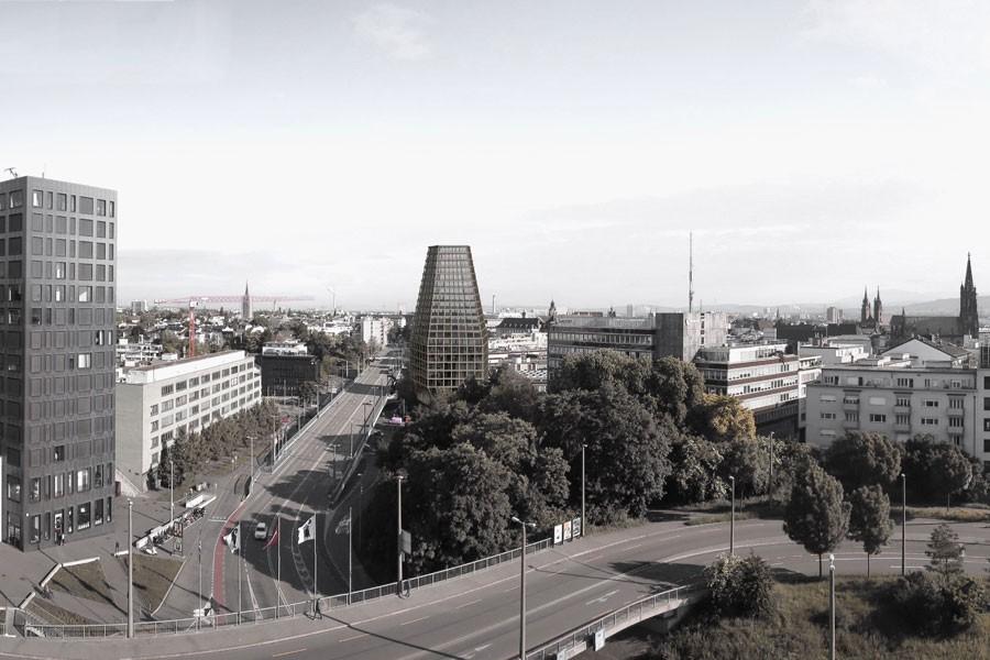 Siegerprojekt für neues Hochhaus an der Basler Heuwaage