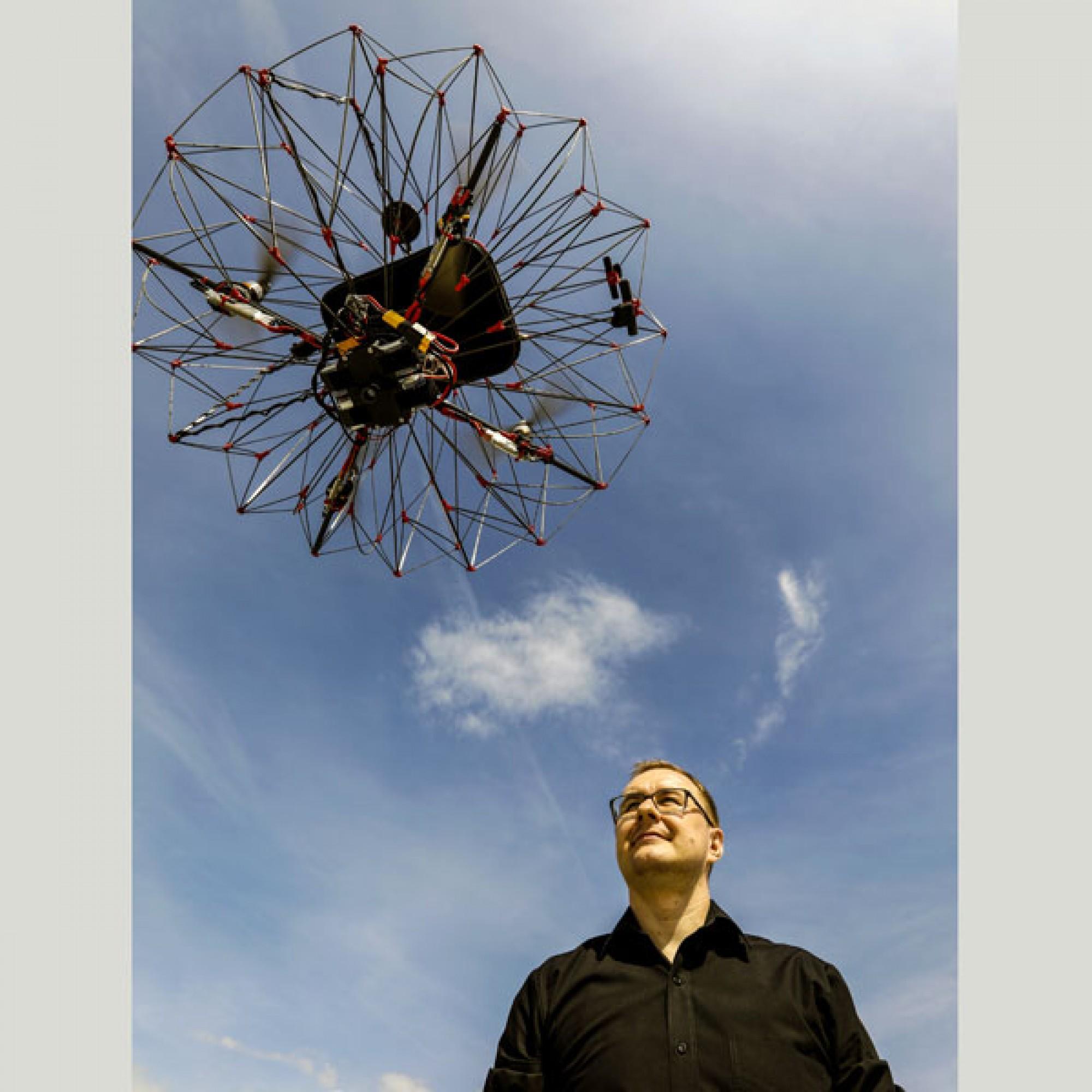 Laut dem Entwickler Przemyslaw Kornatowski sei das Projekt aber noch in Arbeit. (Bild: EPFL)