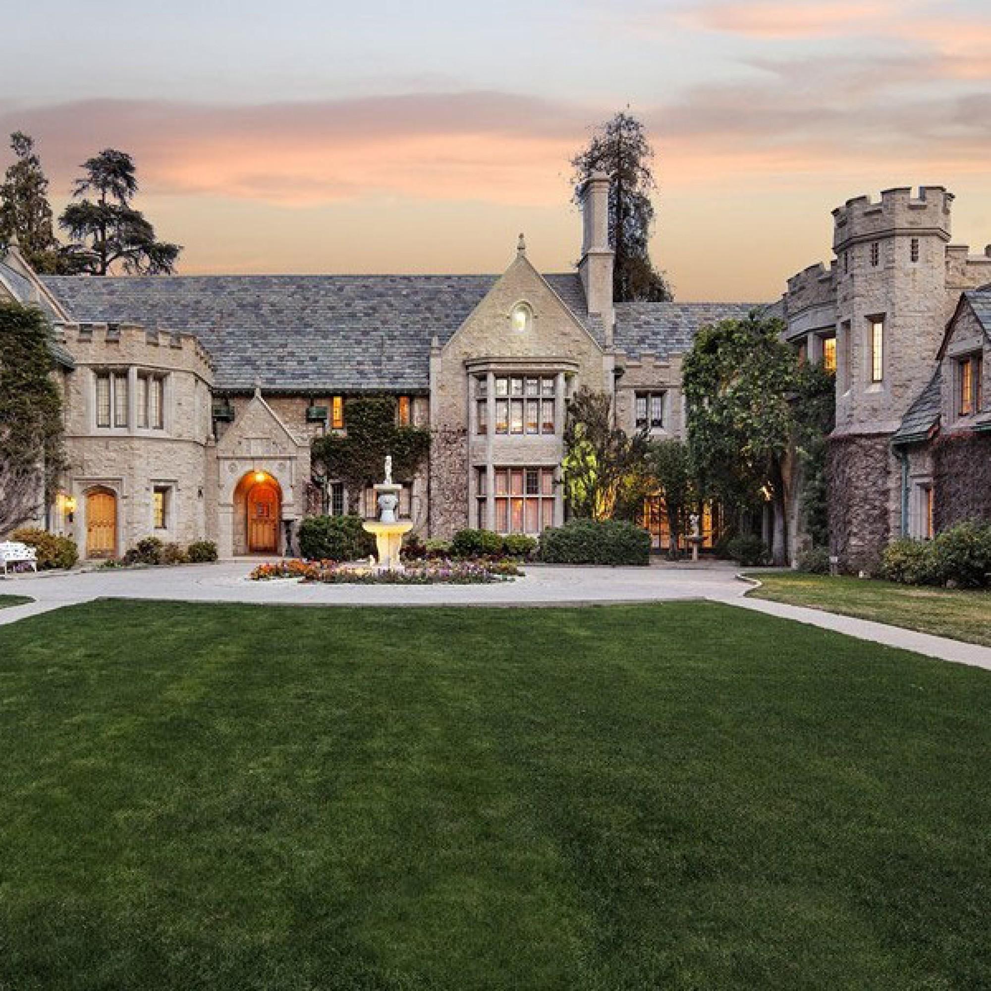 Playboy-Mansion von Hugh Hefner
