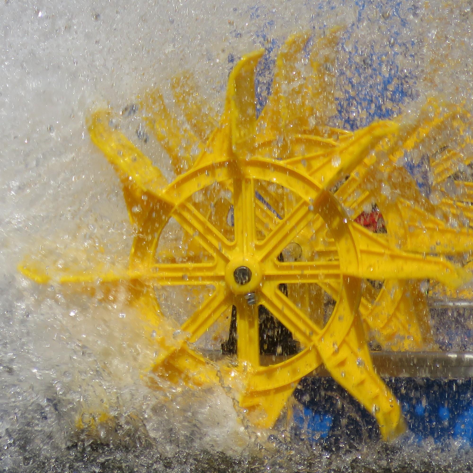 Wasserrad, Symbolbild