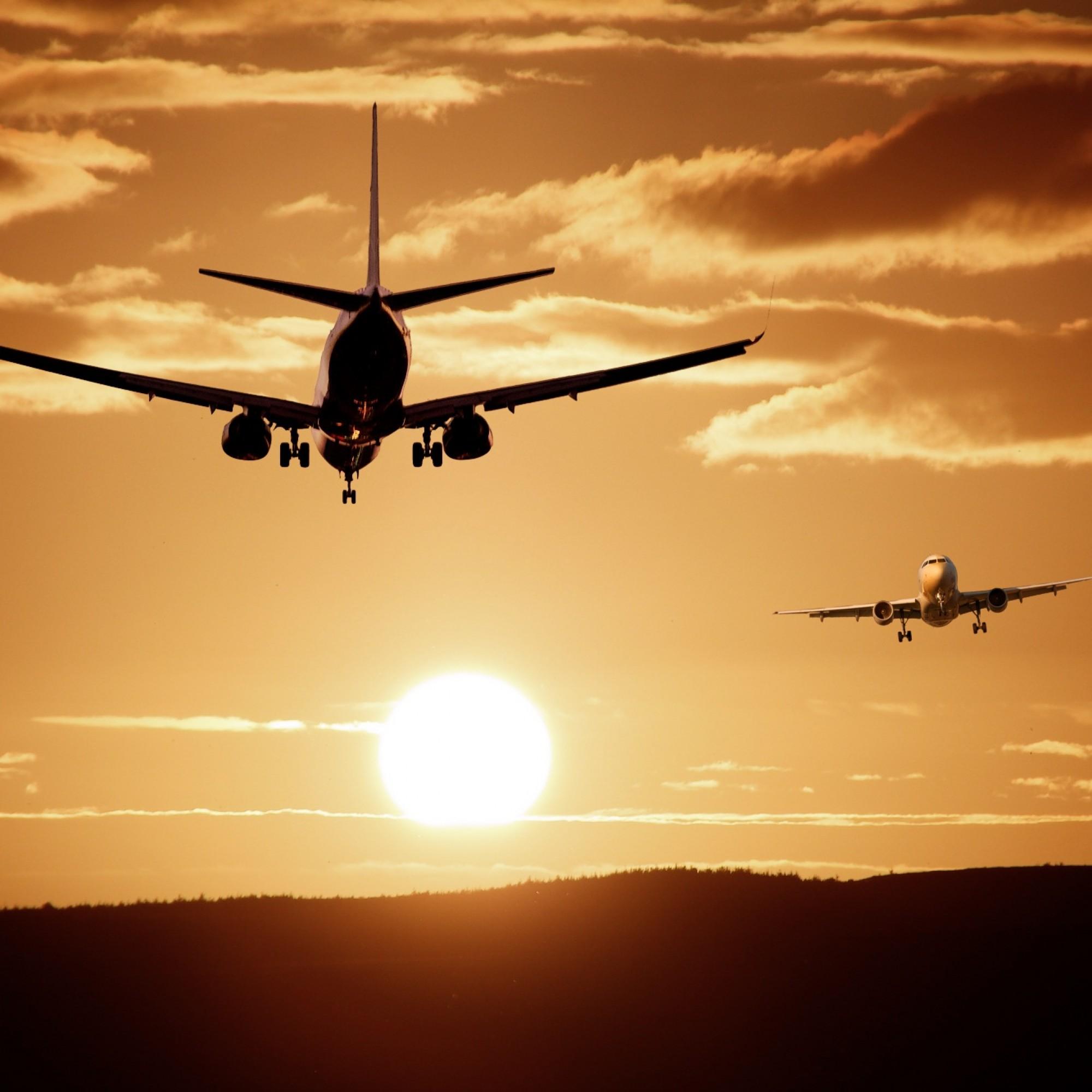 Flugzeuge, Symbolbild.