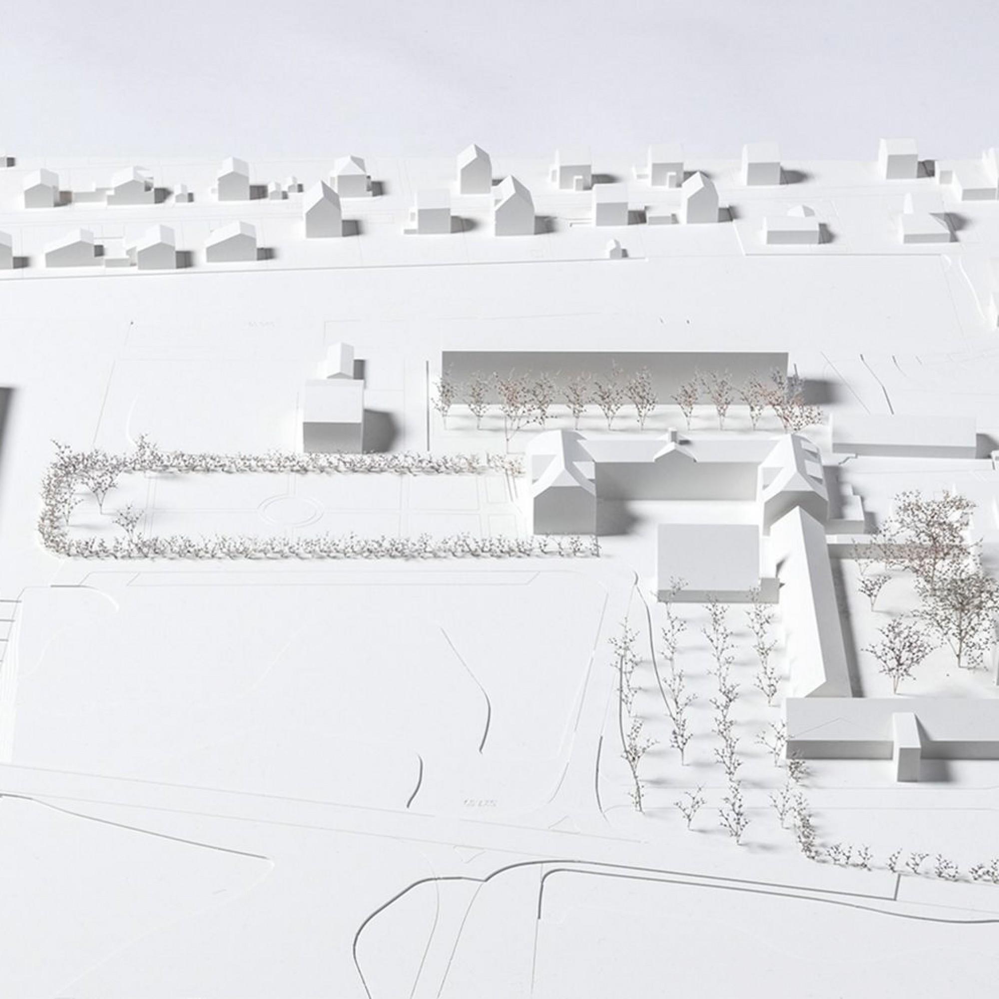 So soll das Areal des landwirtschaftlichen Bildungs- und Beratungszentrums Plantahof in Landquart künftig aussehen.