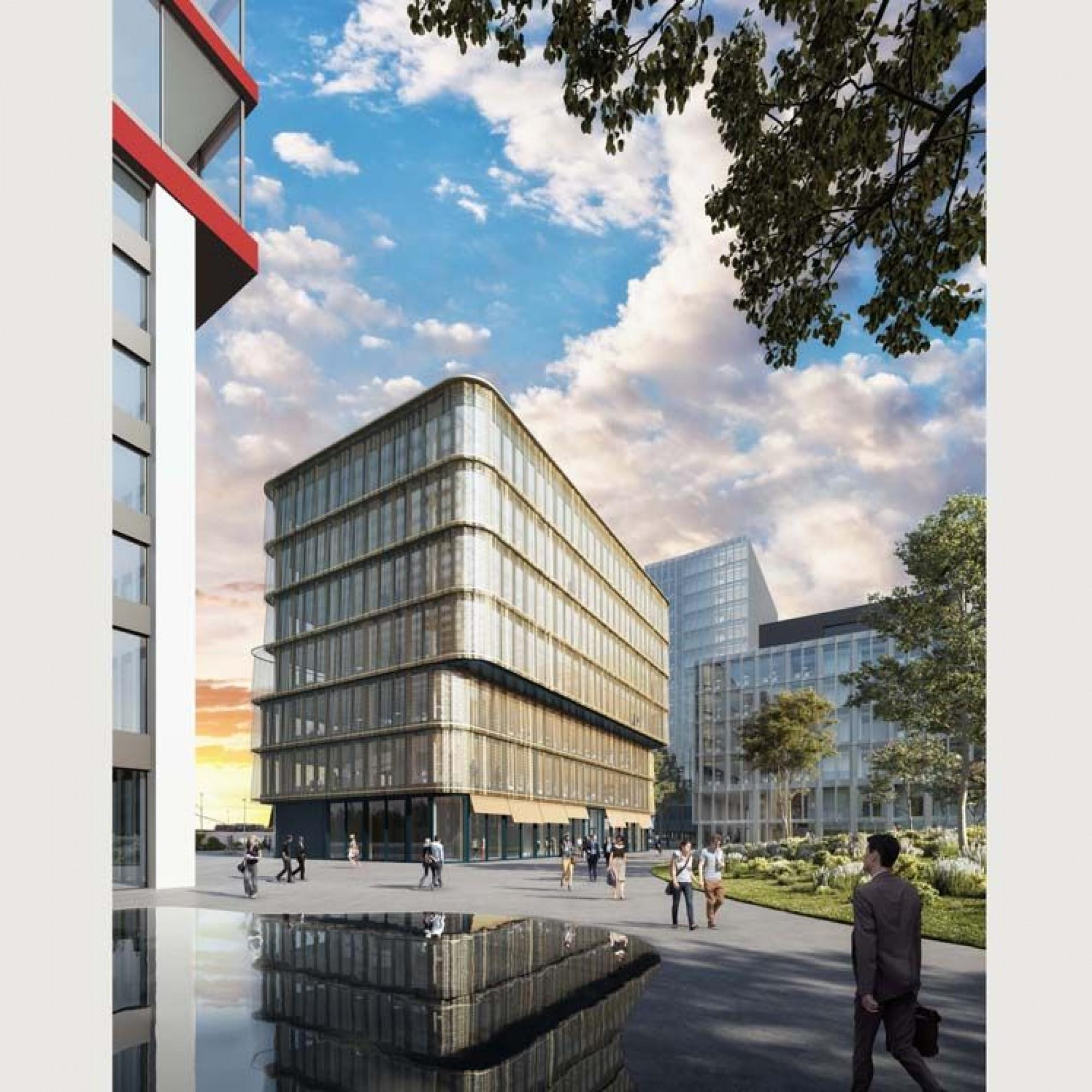 So soll der Campus der Hochschule Luzern künftig aussehen.