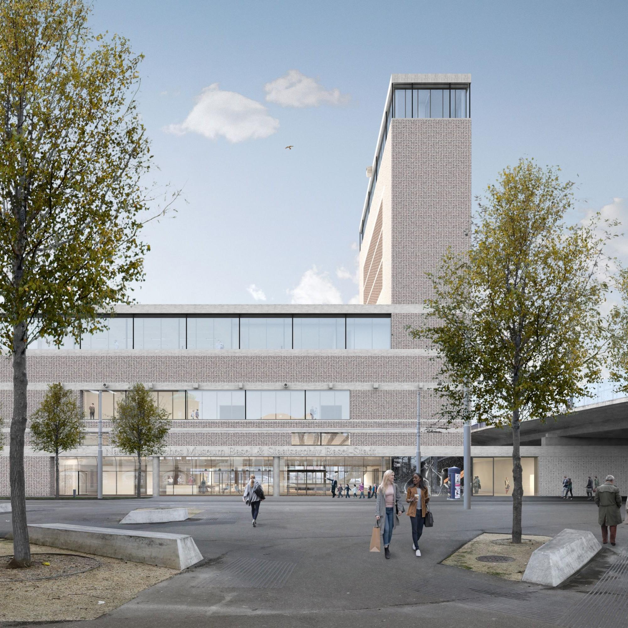 Das Siegerprojekt des Neubaus wurde vom Zürcher Architekturbüro EM2N entworfen.