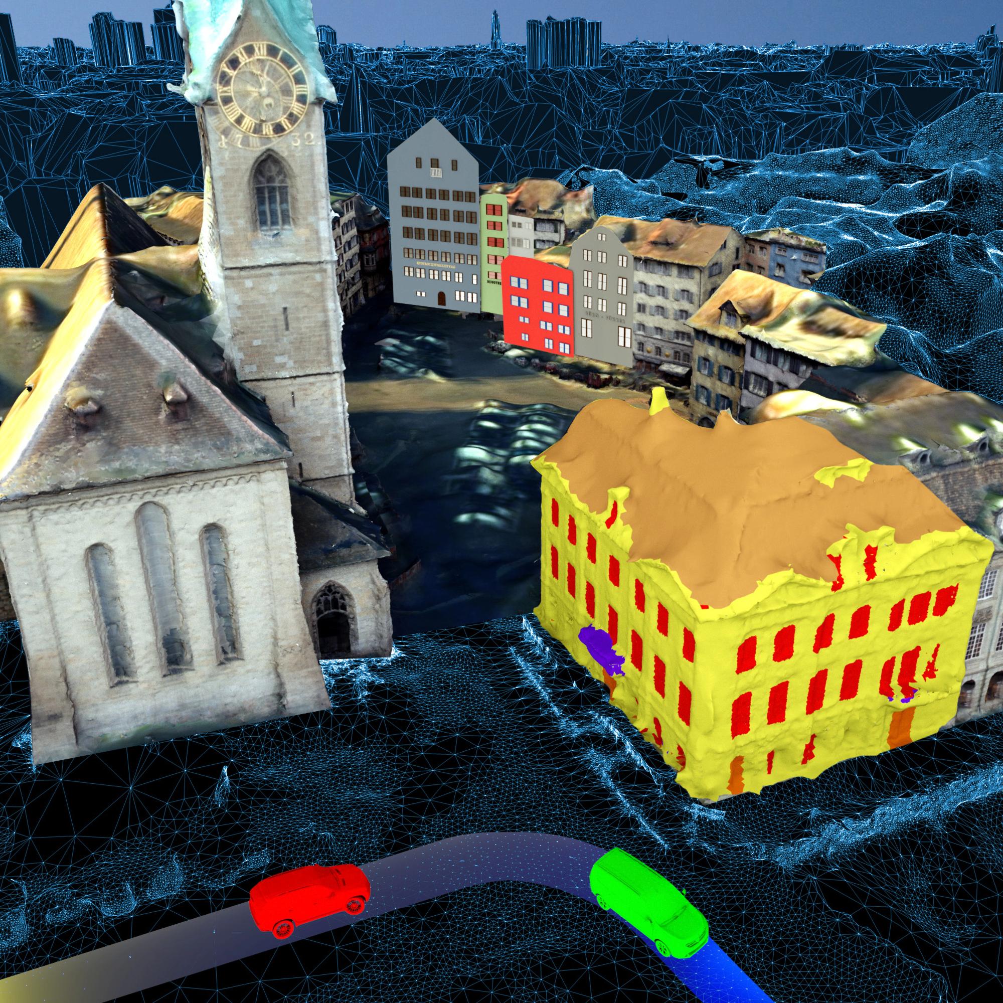 Mit der Technologie der ETH kann auch der Verkehrsfluss detailliert analysiert werden.