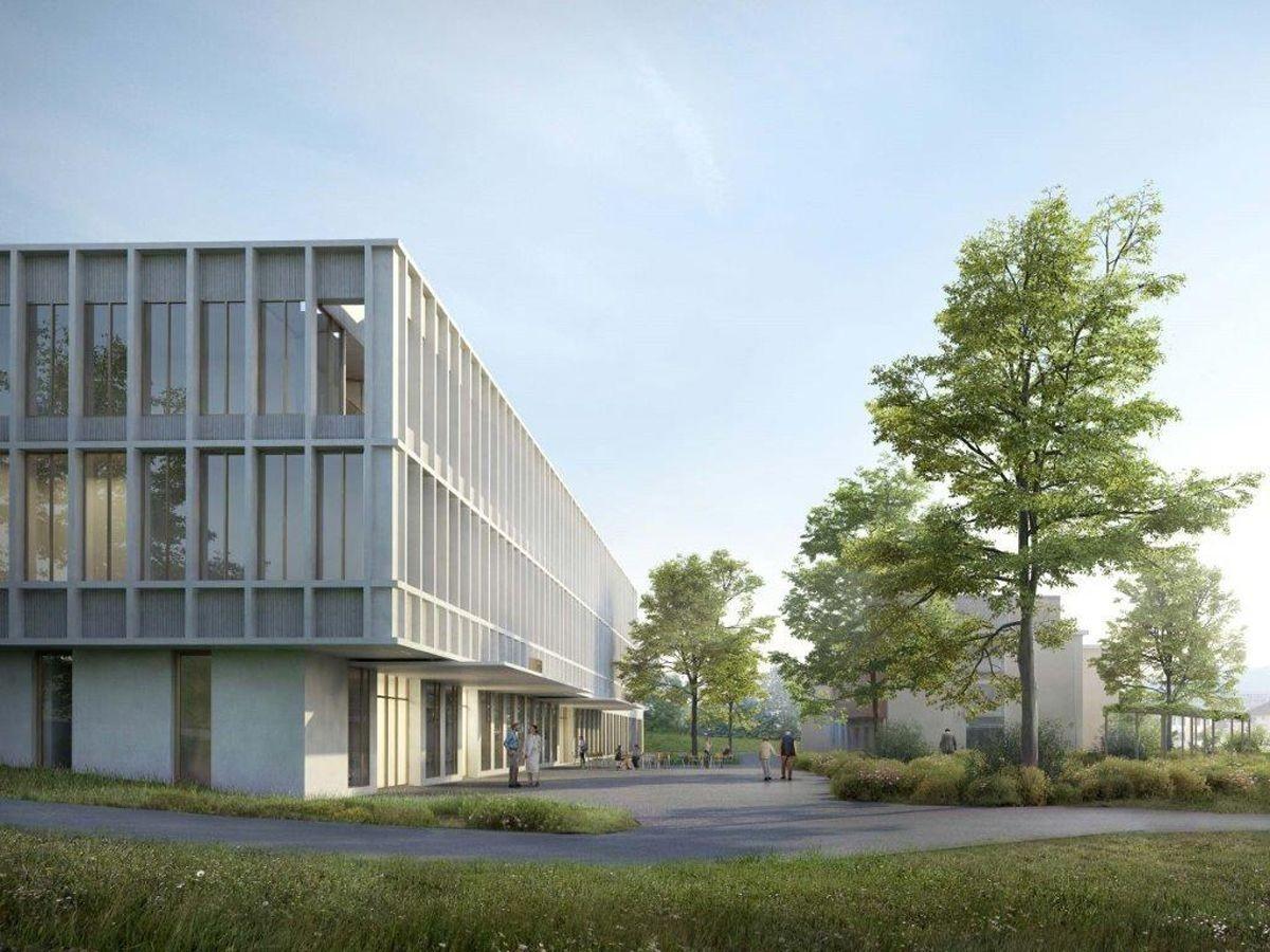 Visualisierung neues Spital in Appenzell Innerrhoden