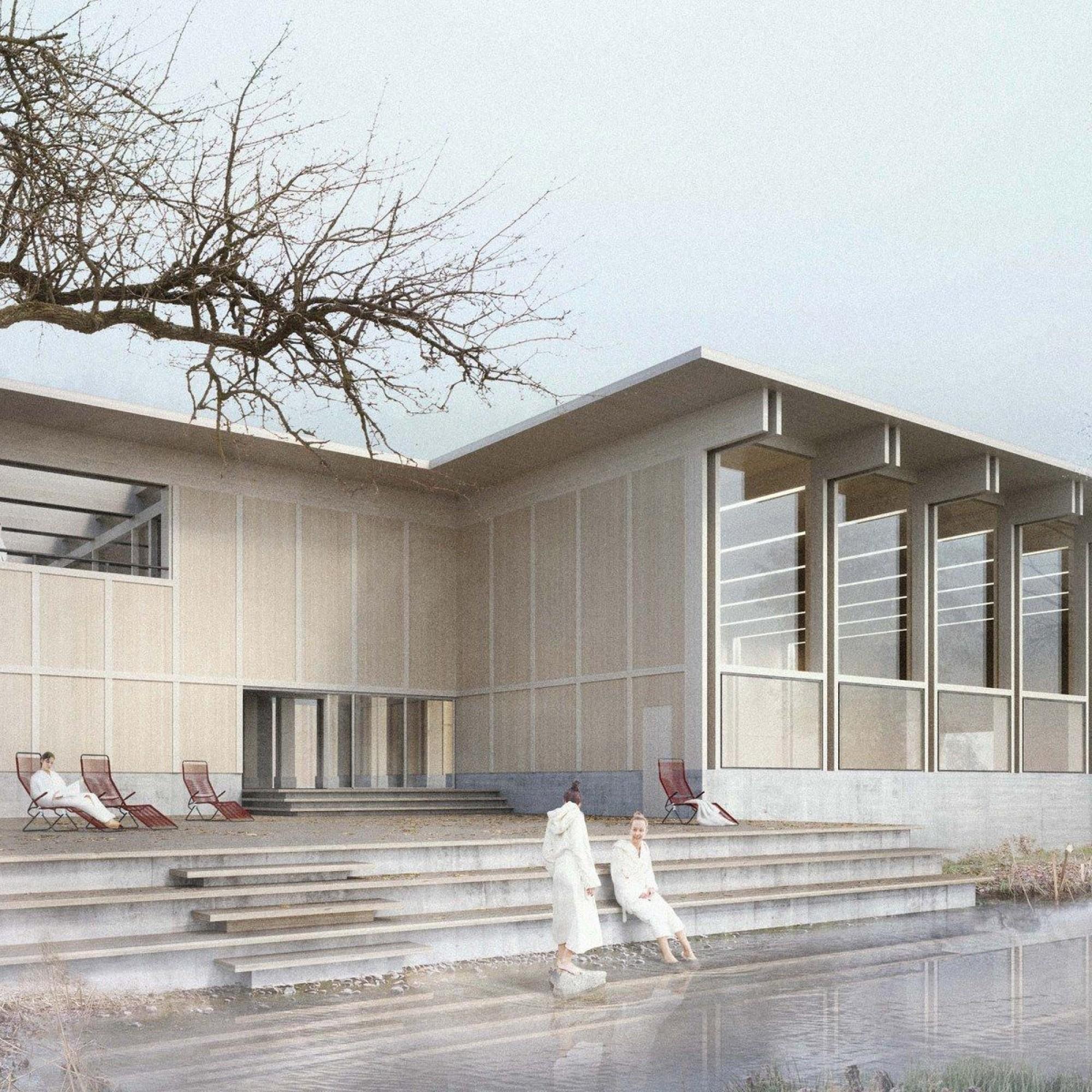 So soll das Hallenbad in Appenzell künftig aussehen.