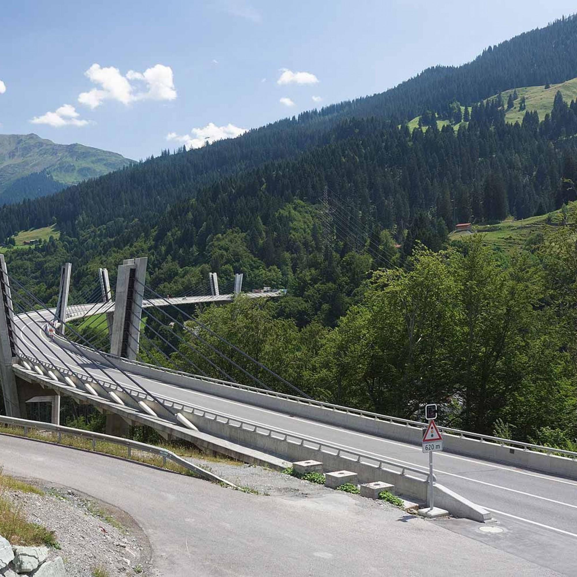 Sunnibergbrücke.