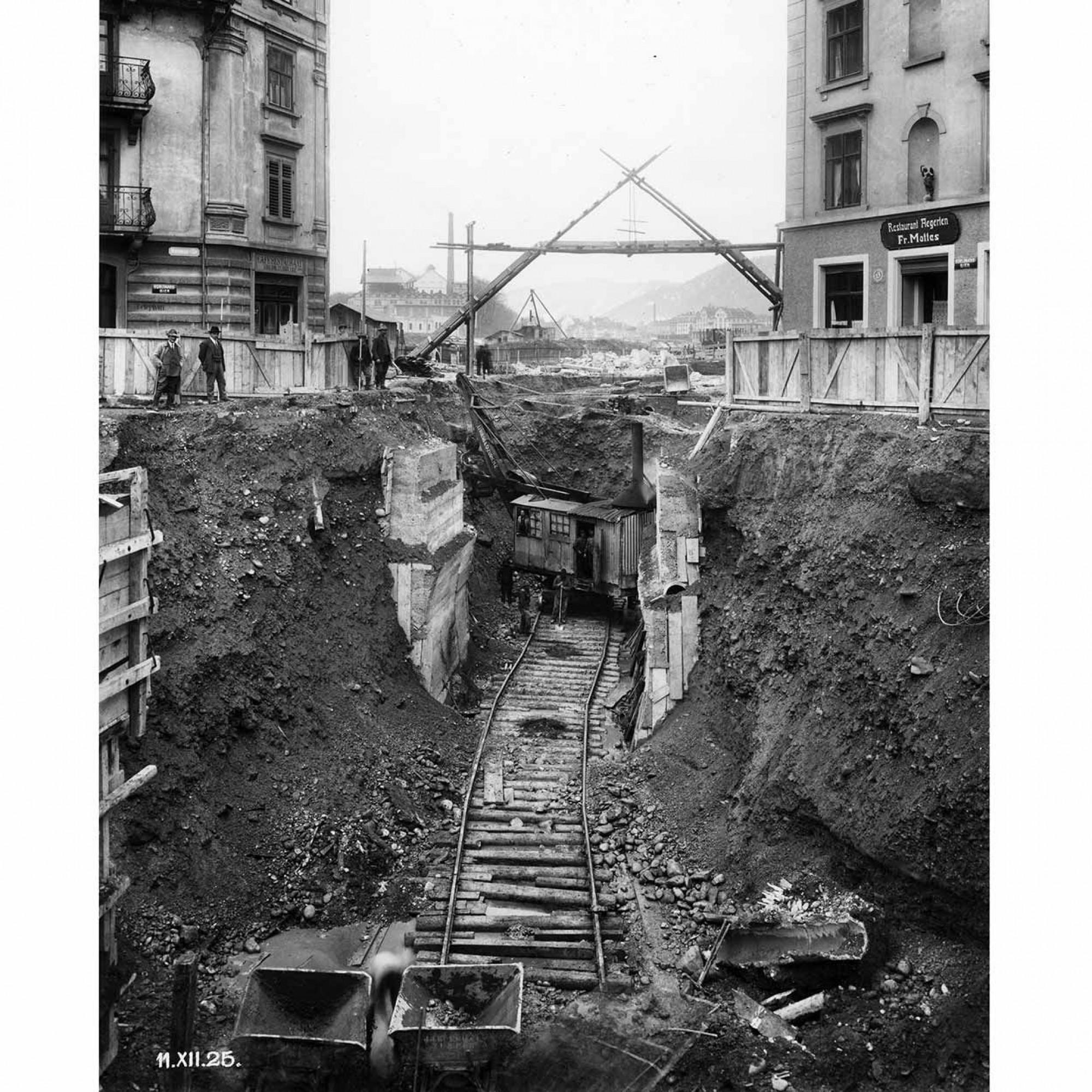 Baustelle 1925