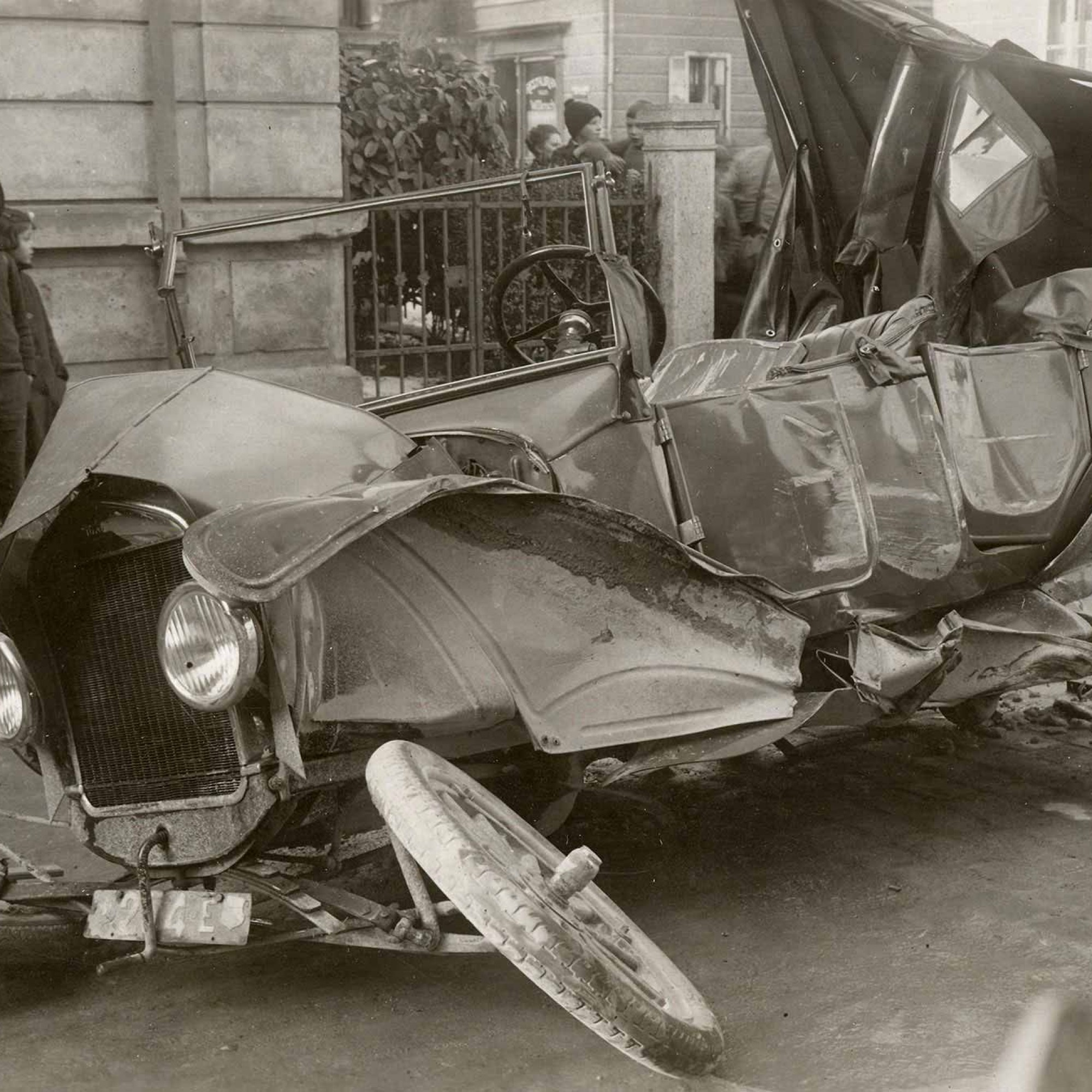 Verkhrsunfall 1925