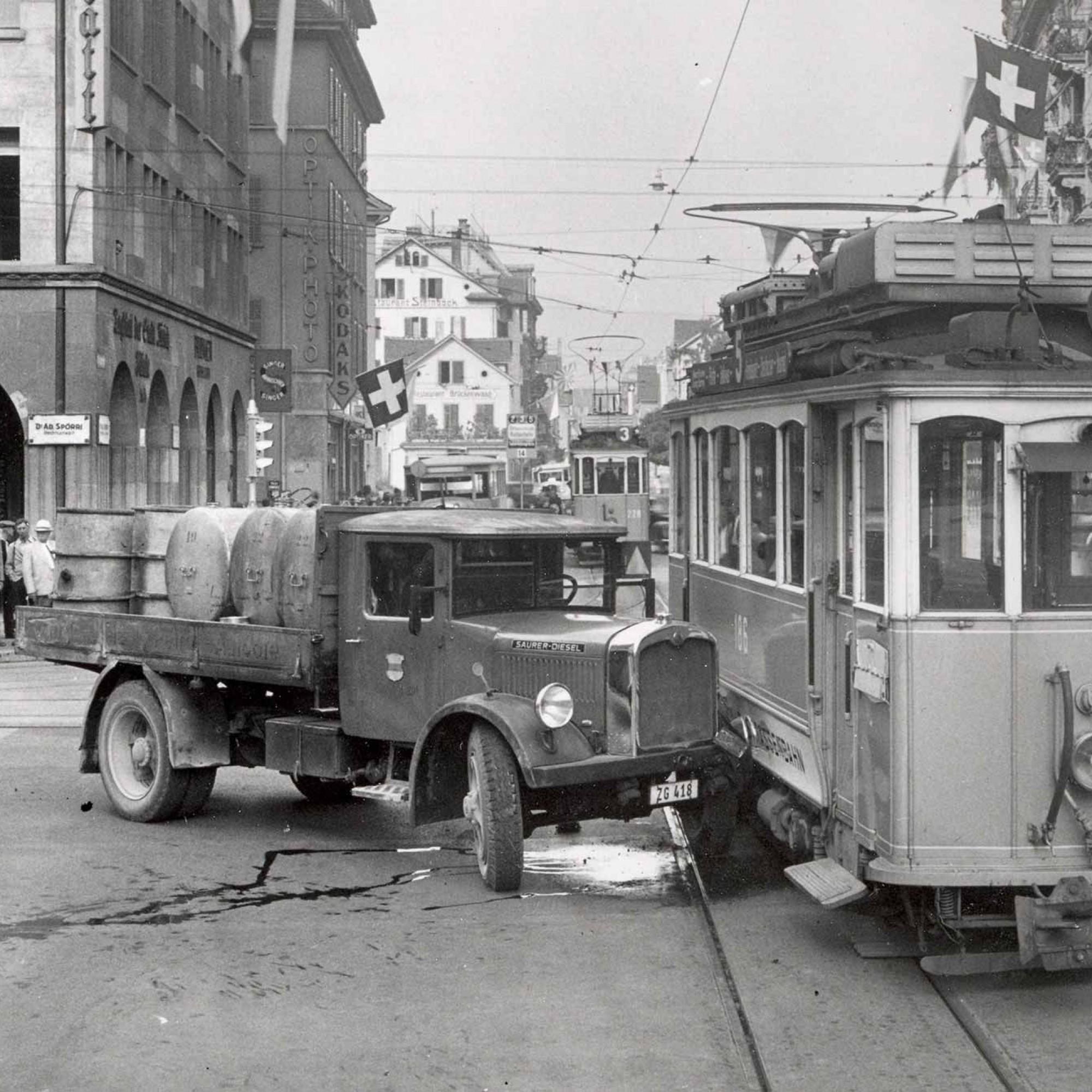Verkehrsunfall 1939