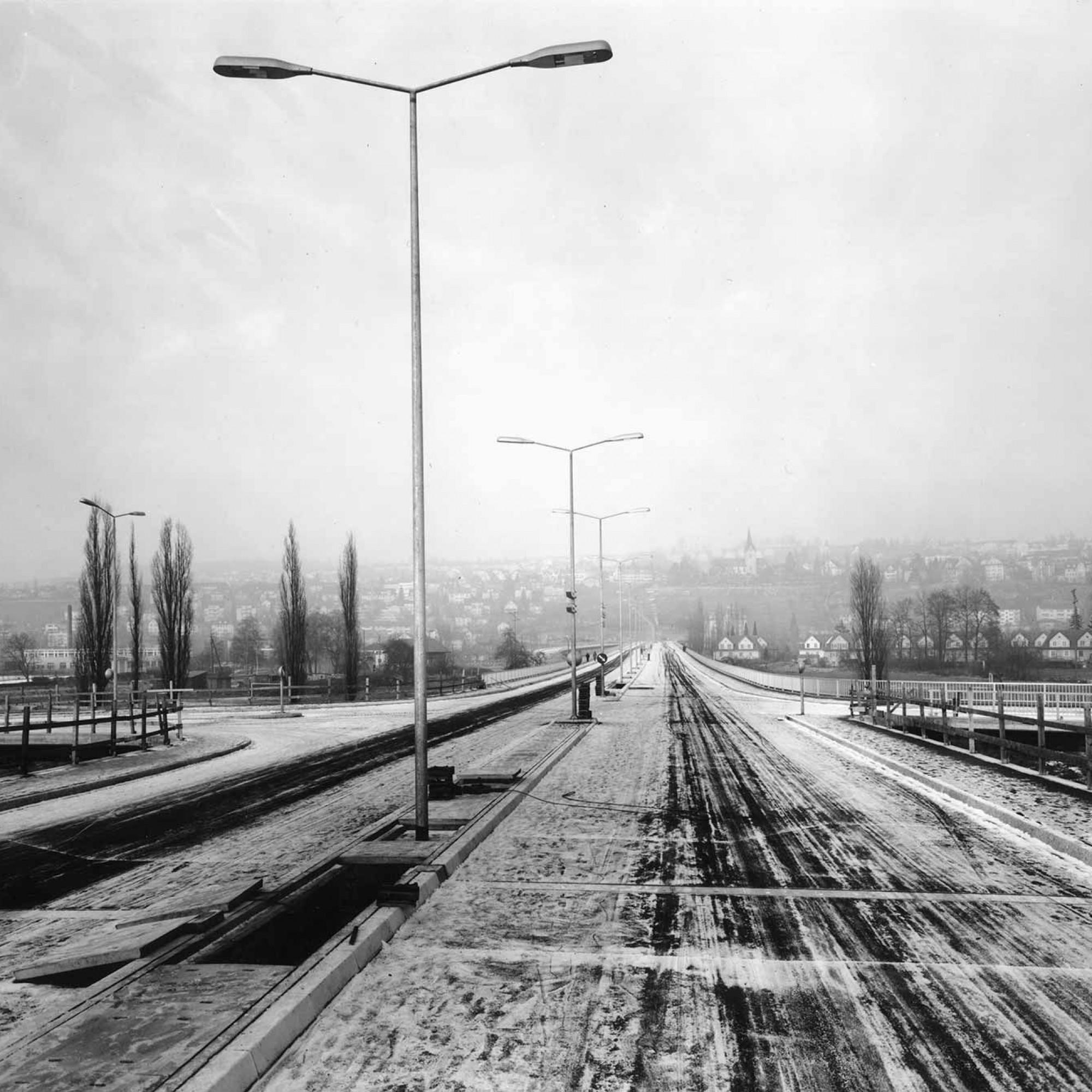 Europabrücke, 1963.