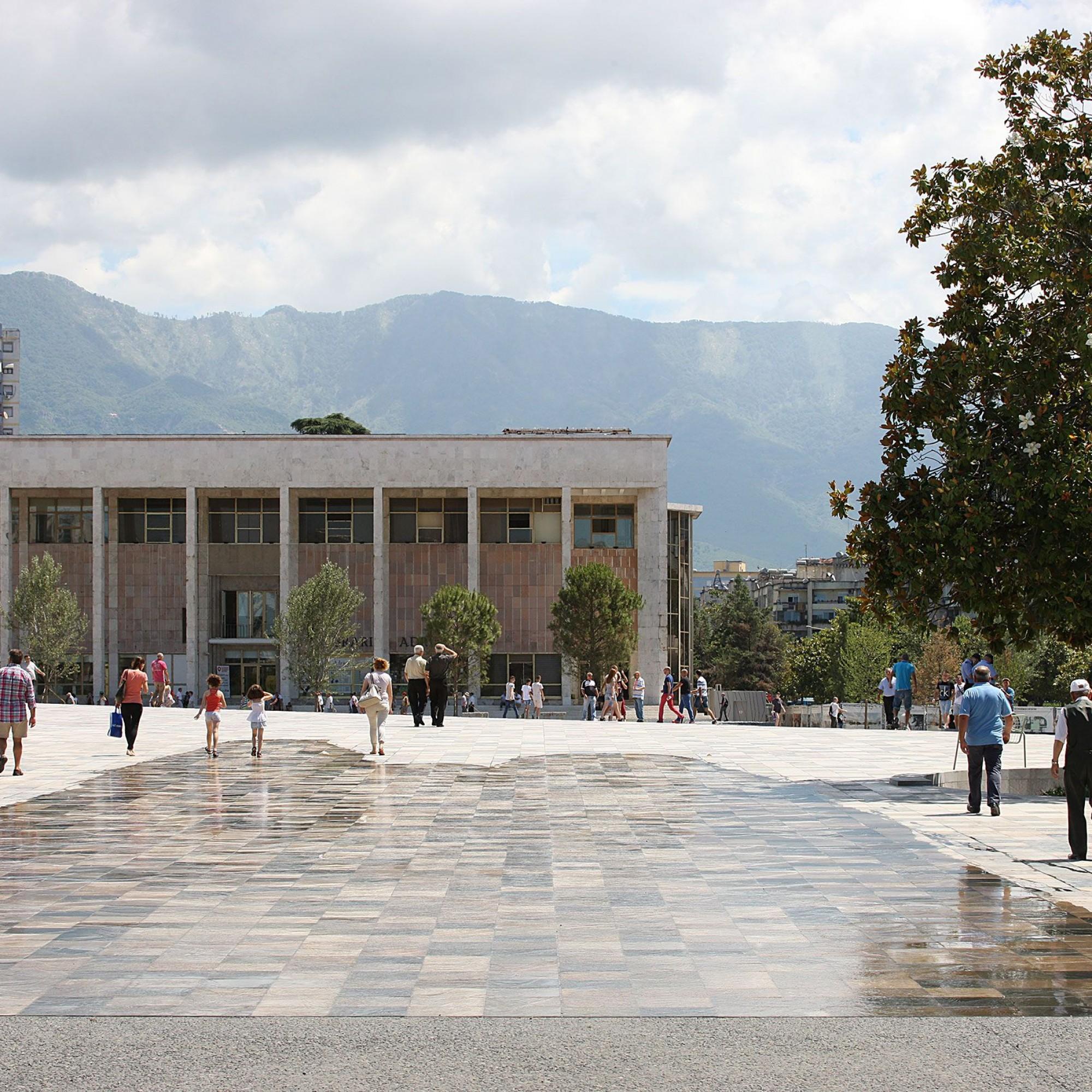 Skanderbeg-Platz
