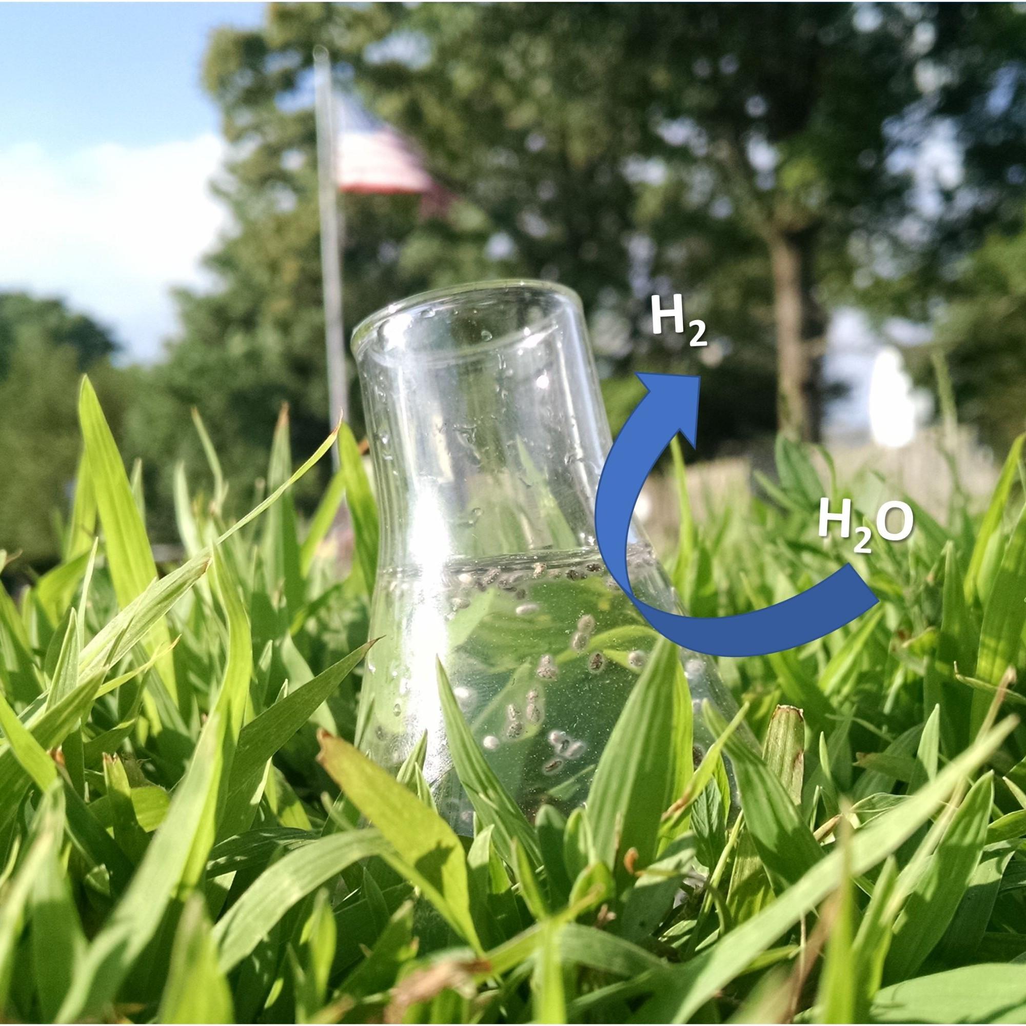 Sternförmige Goldnanopartikel, die mit einem Halbleiter beschichtet sind, ermöglichen eine effiziente Produktion von Wasserstoff aus Wasser.