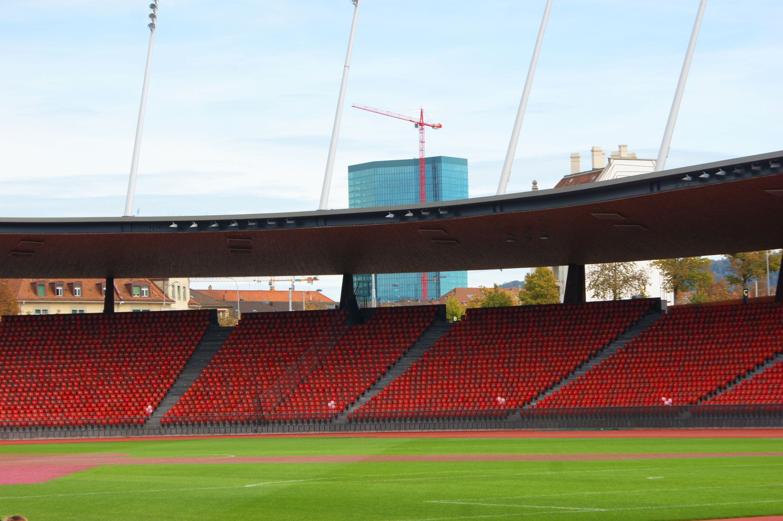 Das Letzigrund-Stadion.