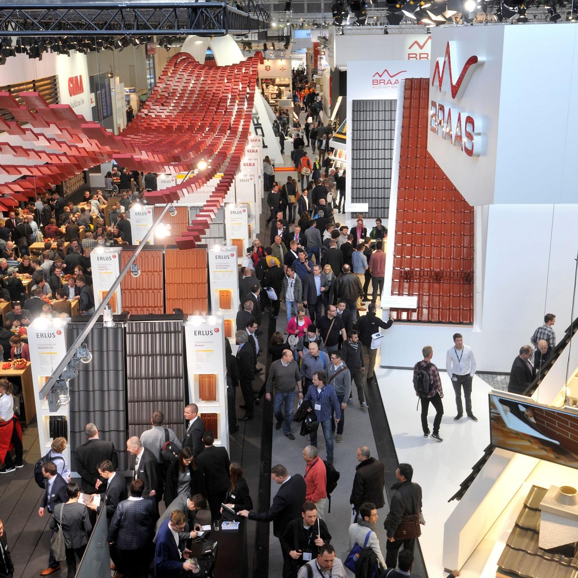 Die 18 Hallen der Messe München sind bis auf den letzten Quadratmeter ausgebucht